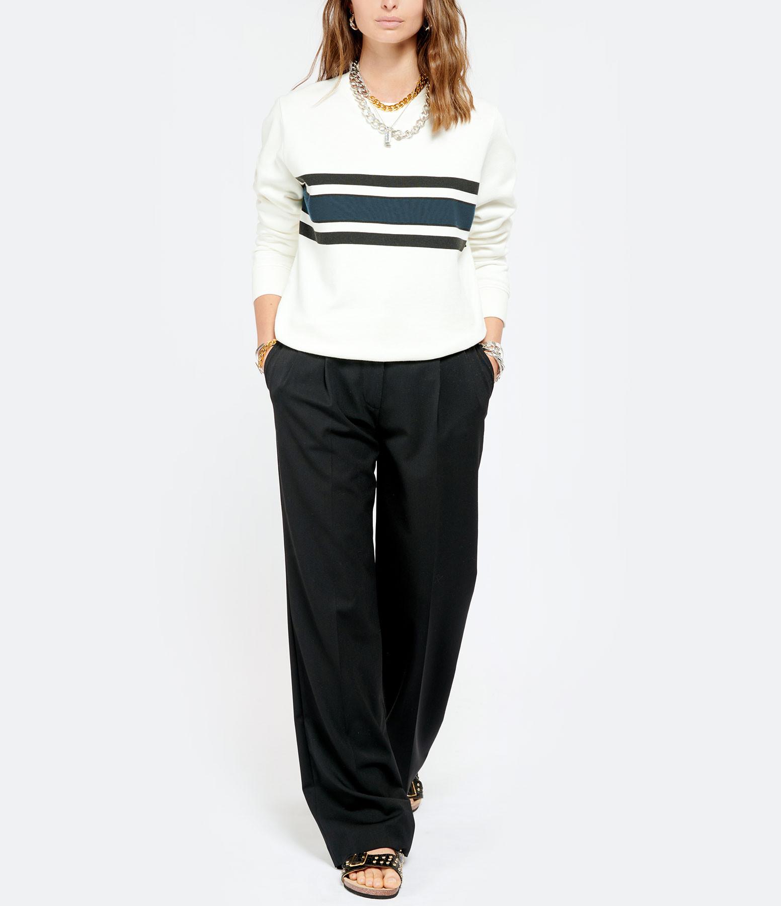 MAISON SARAH LAVOINE - Sweatshirt Icone Beige