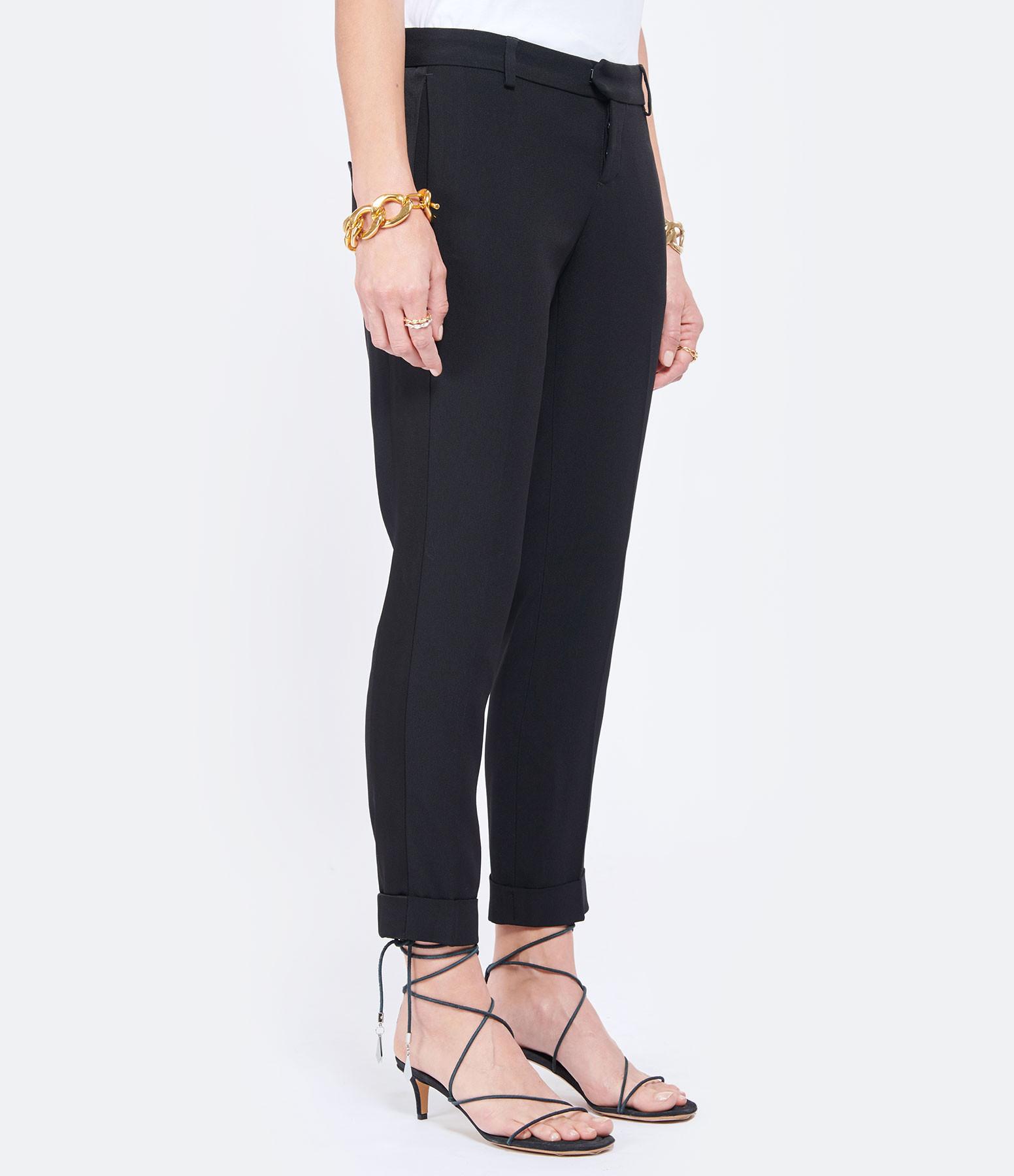 MAISON SARAH LAVOINE - Pantalon Smoking Claude Noir