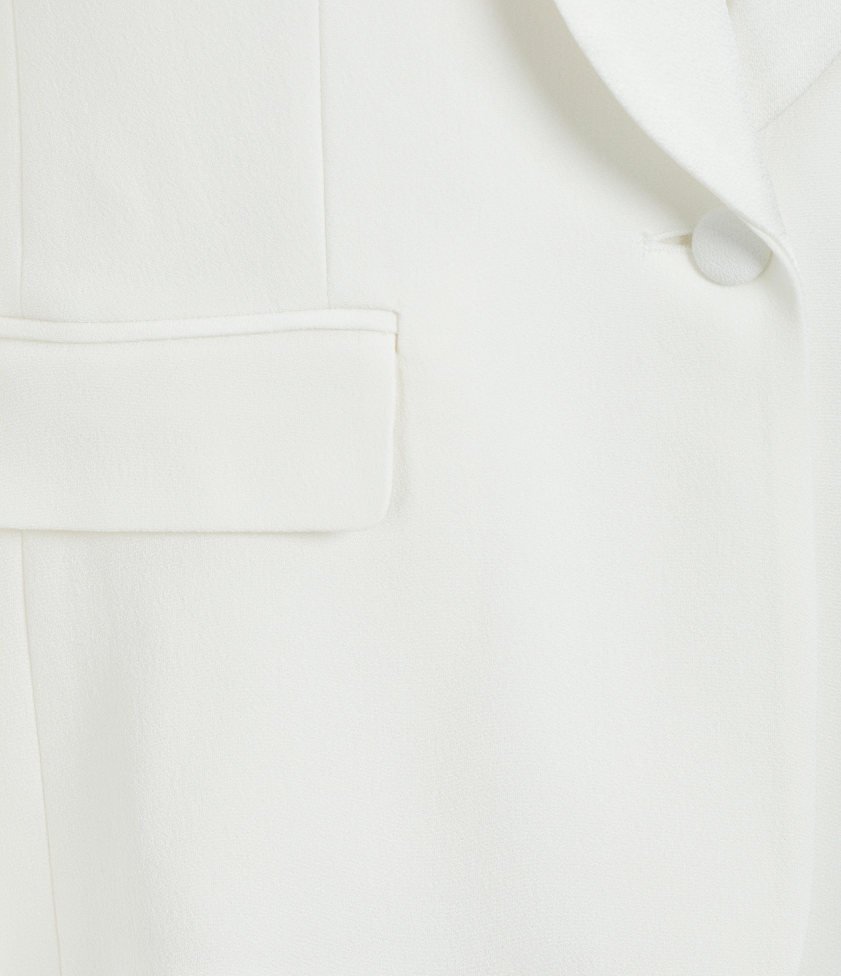 MAISON SARAH LAVOINE - Veste Smoking France Blanc
