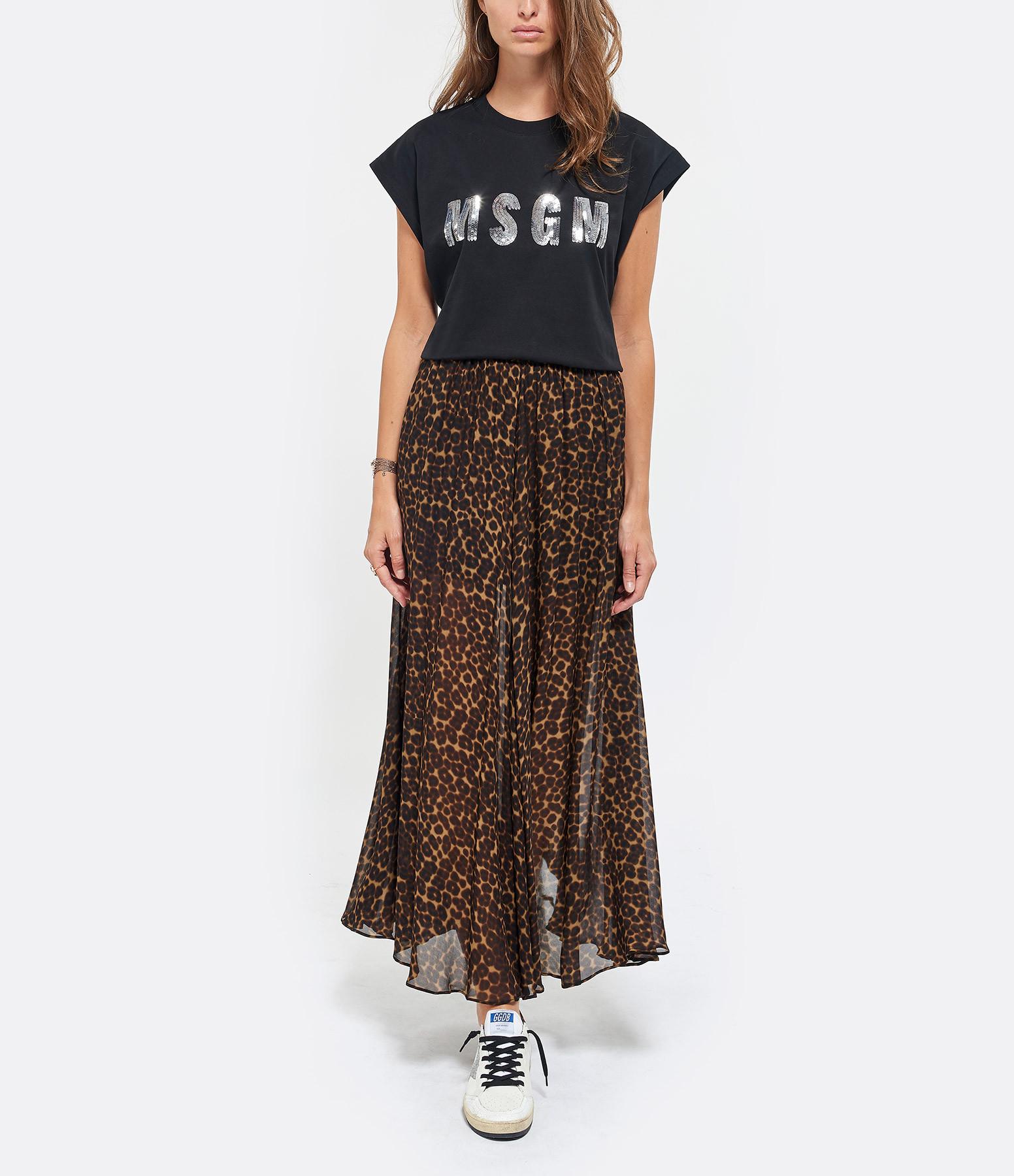 MSGM - Tee-shirt MSGM Noir
