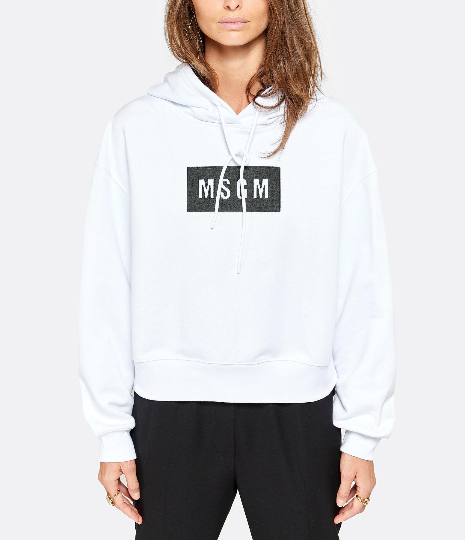 MSGM - Sweatshirt MSGM Blanc