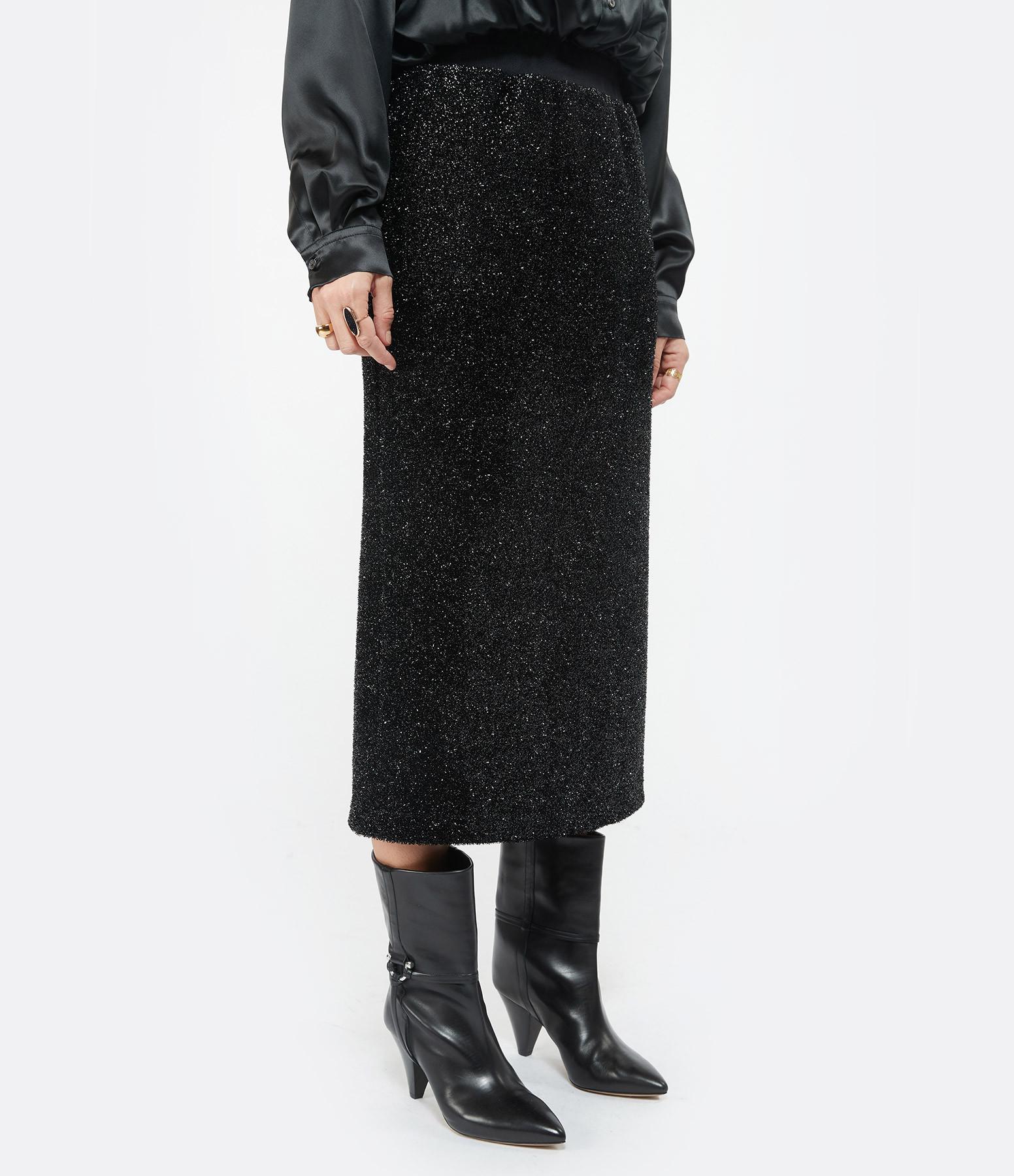 MSGM - Jupe Longue Noir