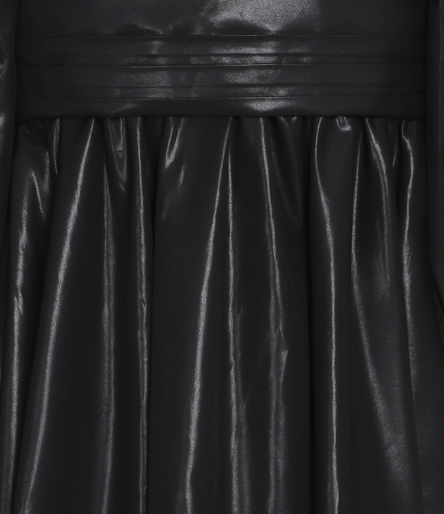 MSGM - Robe Col V Noir
