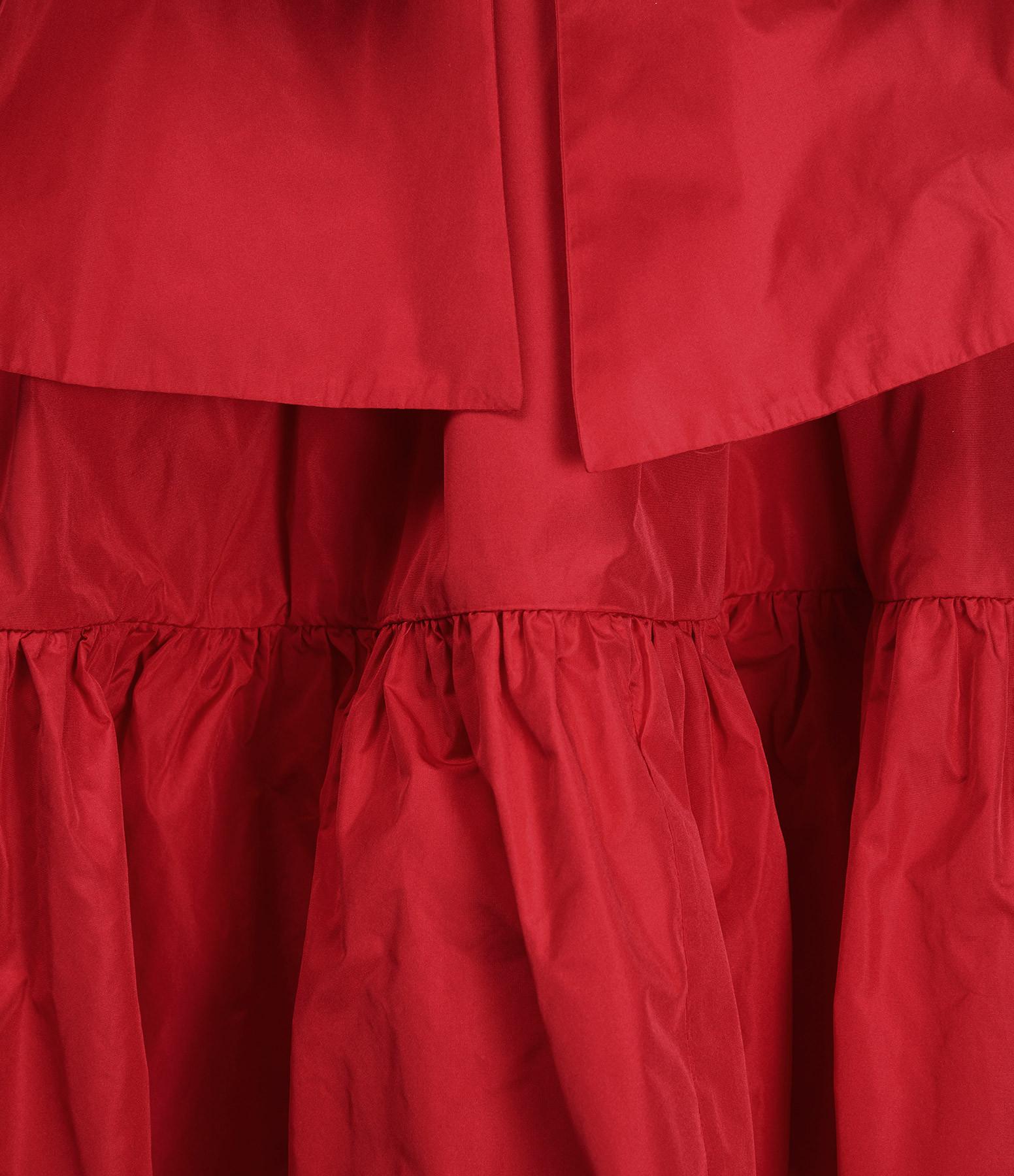 MSGM - Robe Trapèze Rouge