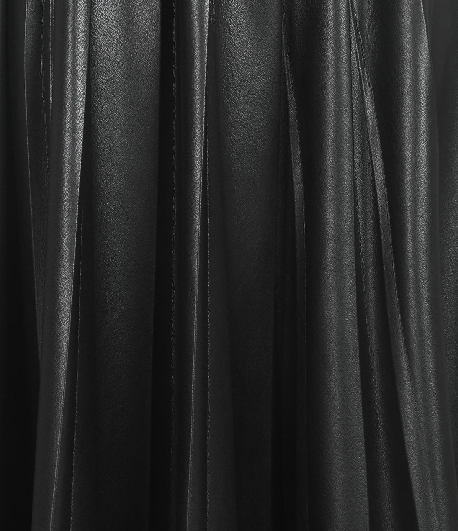 MSGM - Jupe Plissée Noir