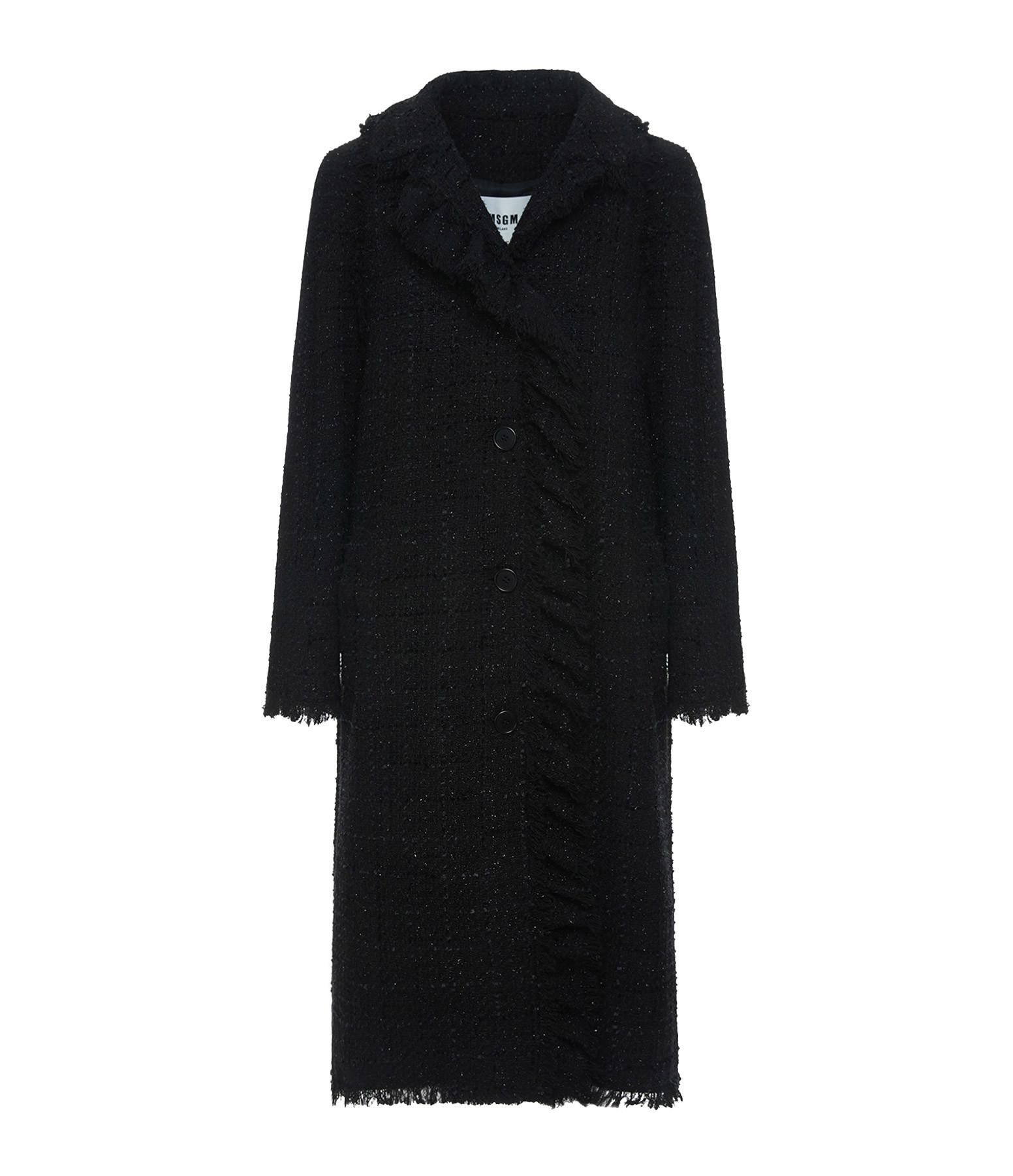 MSGM - Manteau Noir