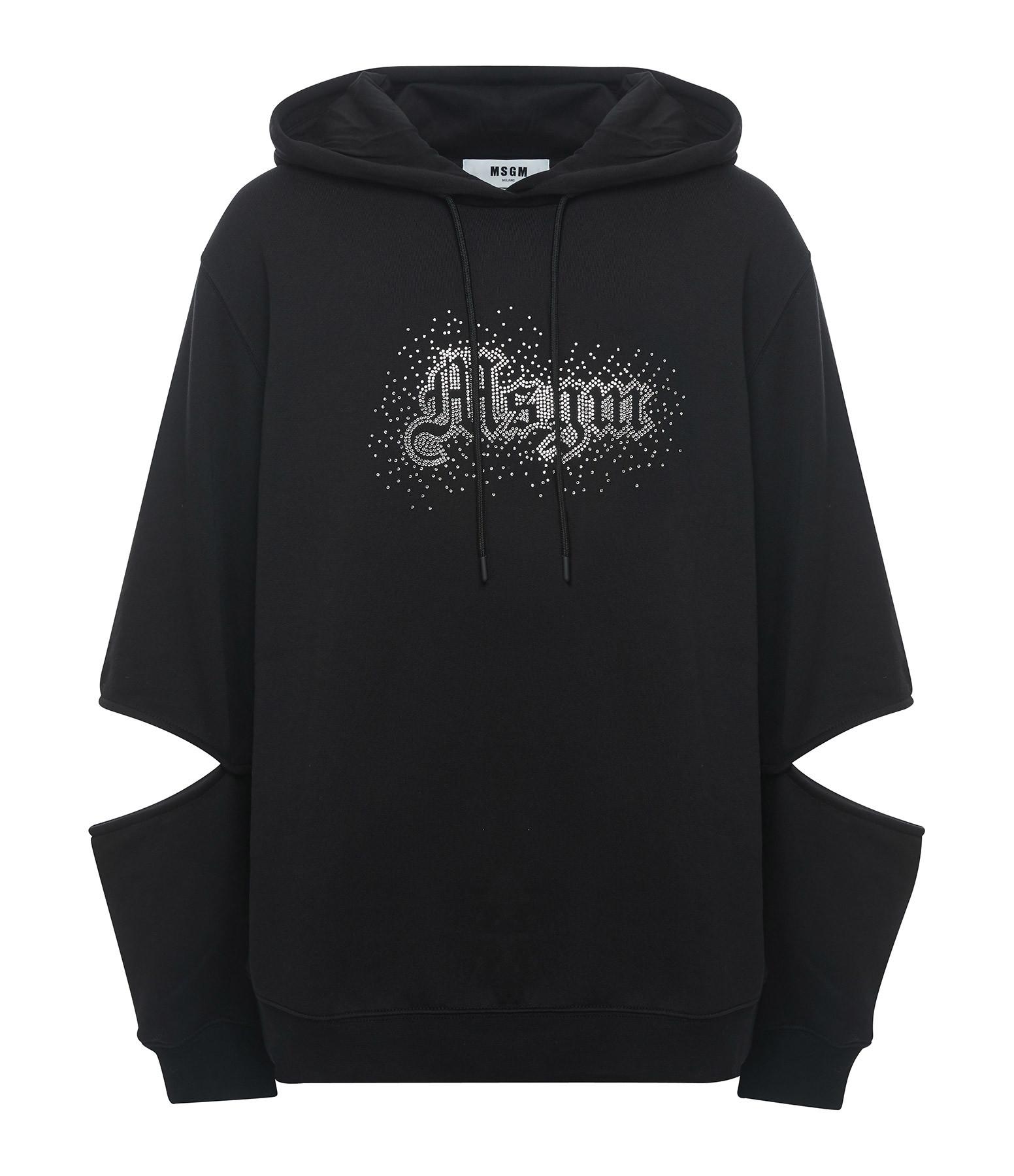 MSGM - Sweatshirt Noir