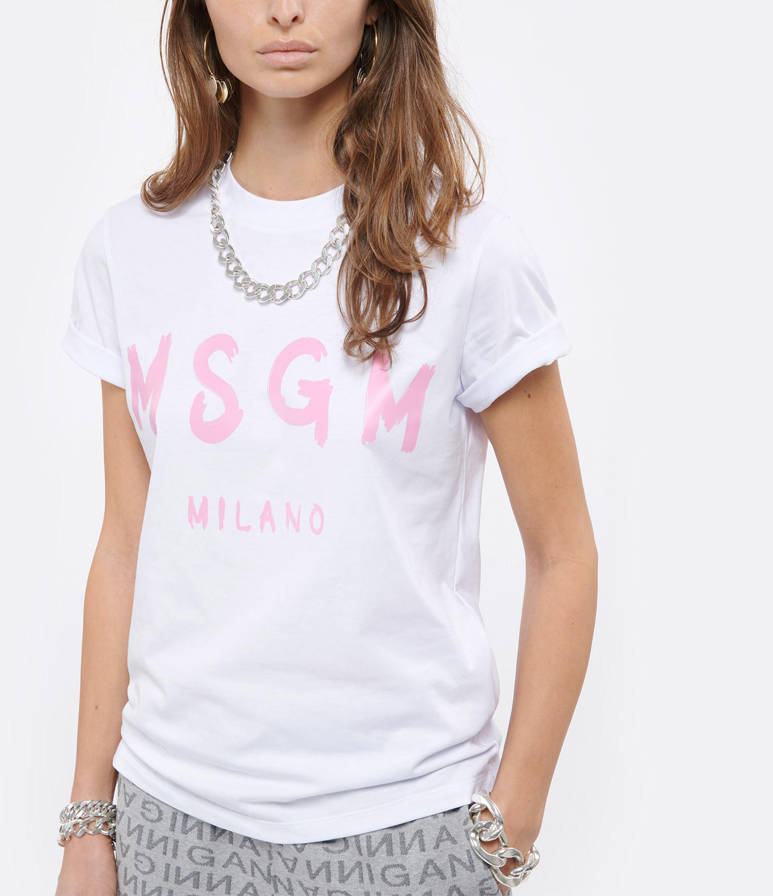 MSGM - Tee-shirt MSGM Blanc