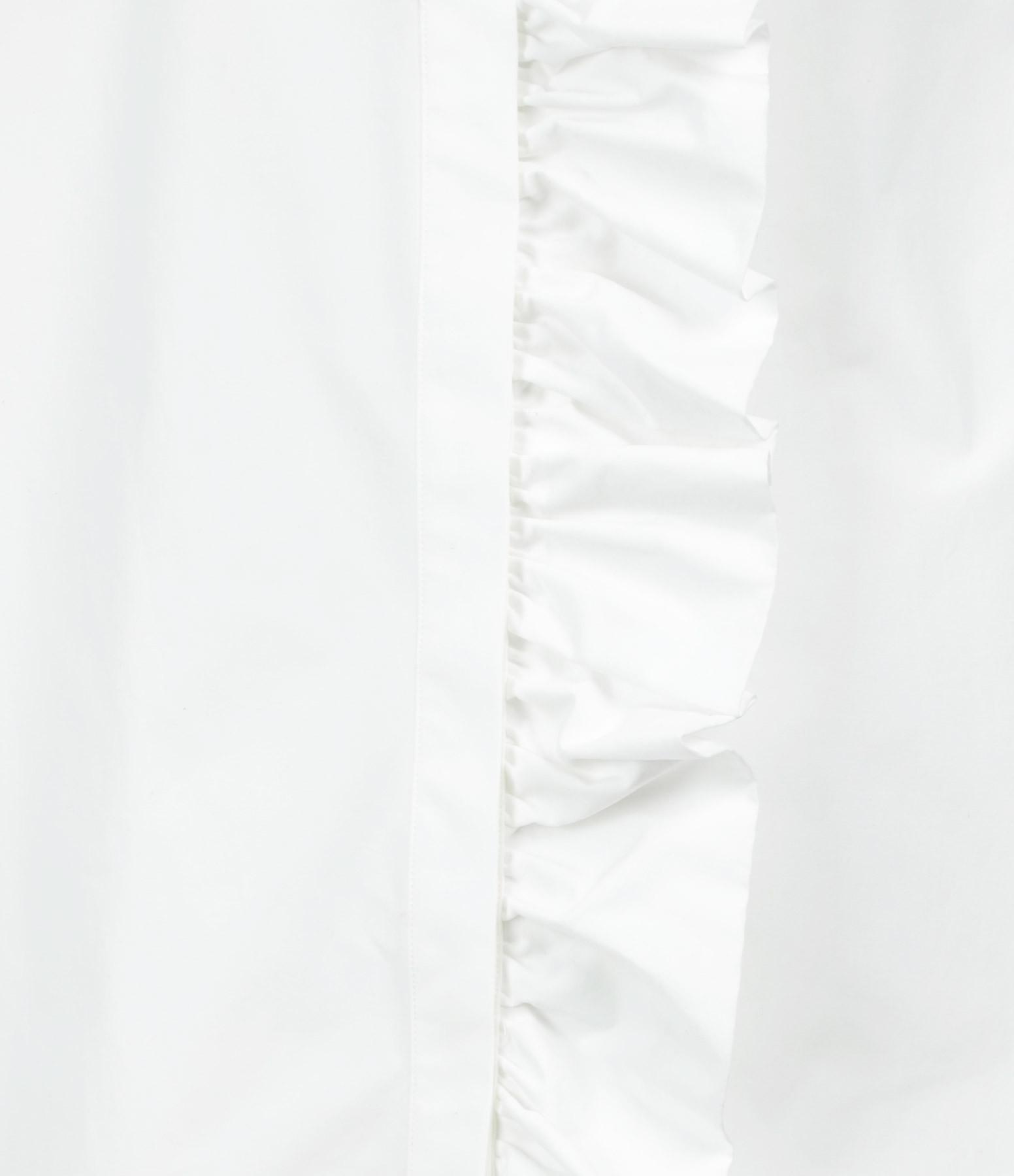 MSGM - Robe Chemise Blanc