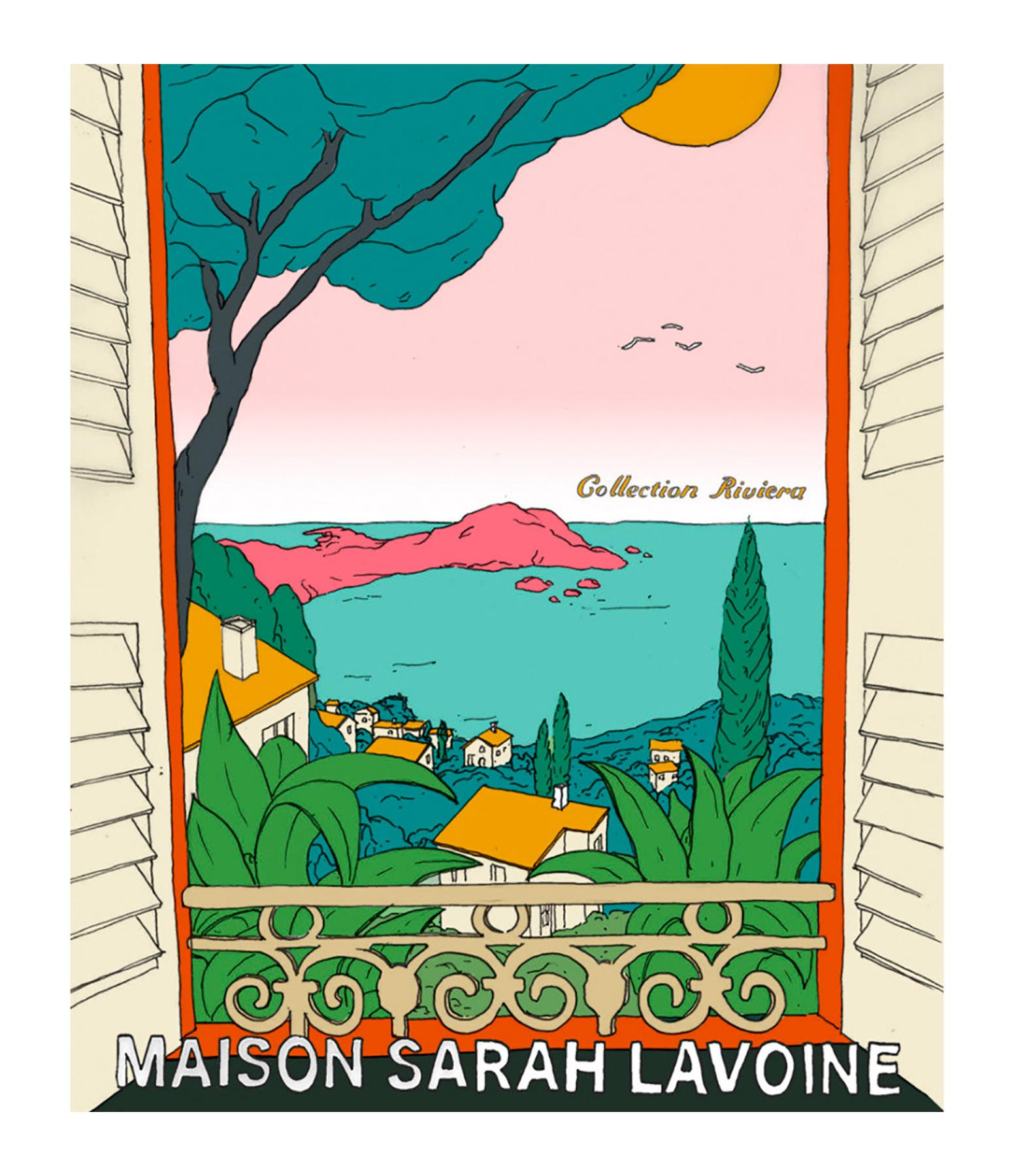 MAISON SARAH LAVOINE - Affiche L'Évasion 56x76cm