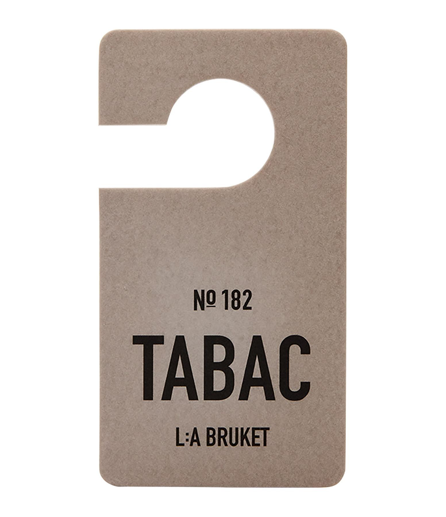 L:A BRUKET - Etiquette Parfumée Tabac N°182