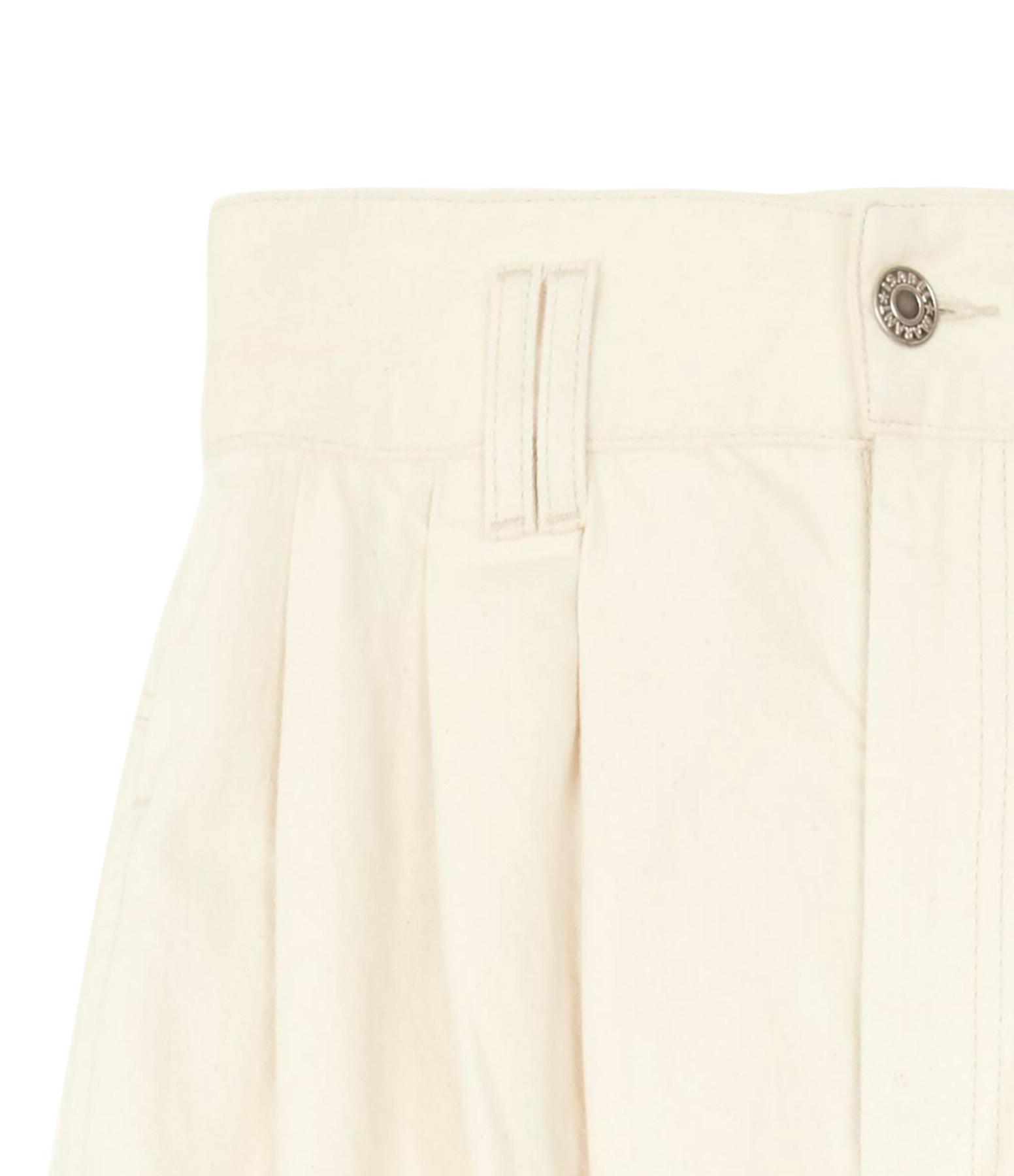 ISABEL MARANT - Pantalon Naidenae Denim Écru
