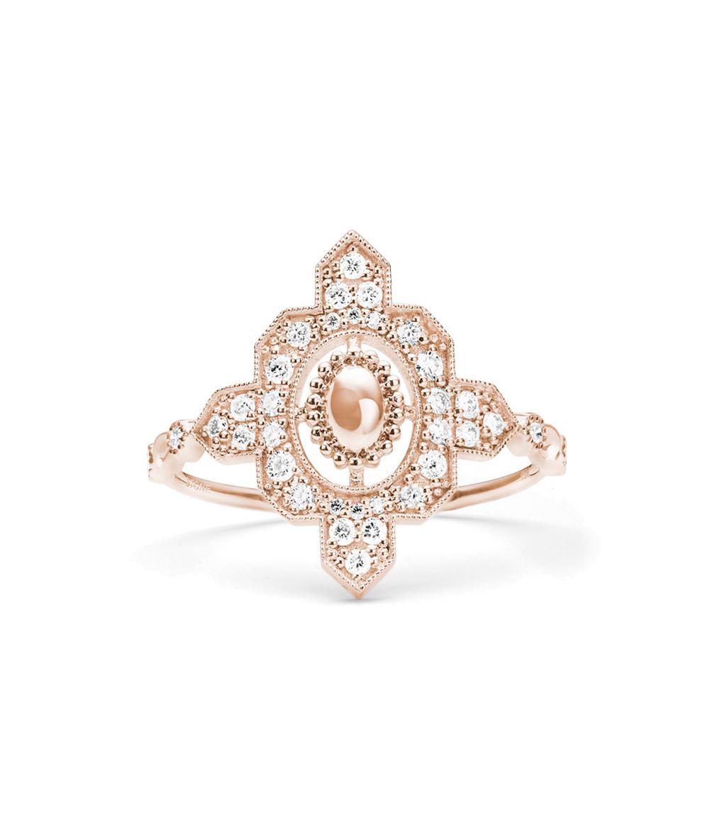 STONE PARIS - Bague Navajo Or Diamants