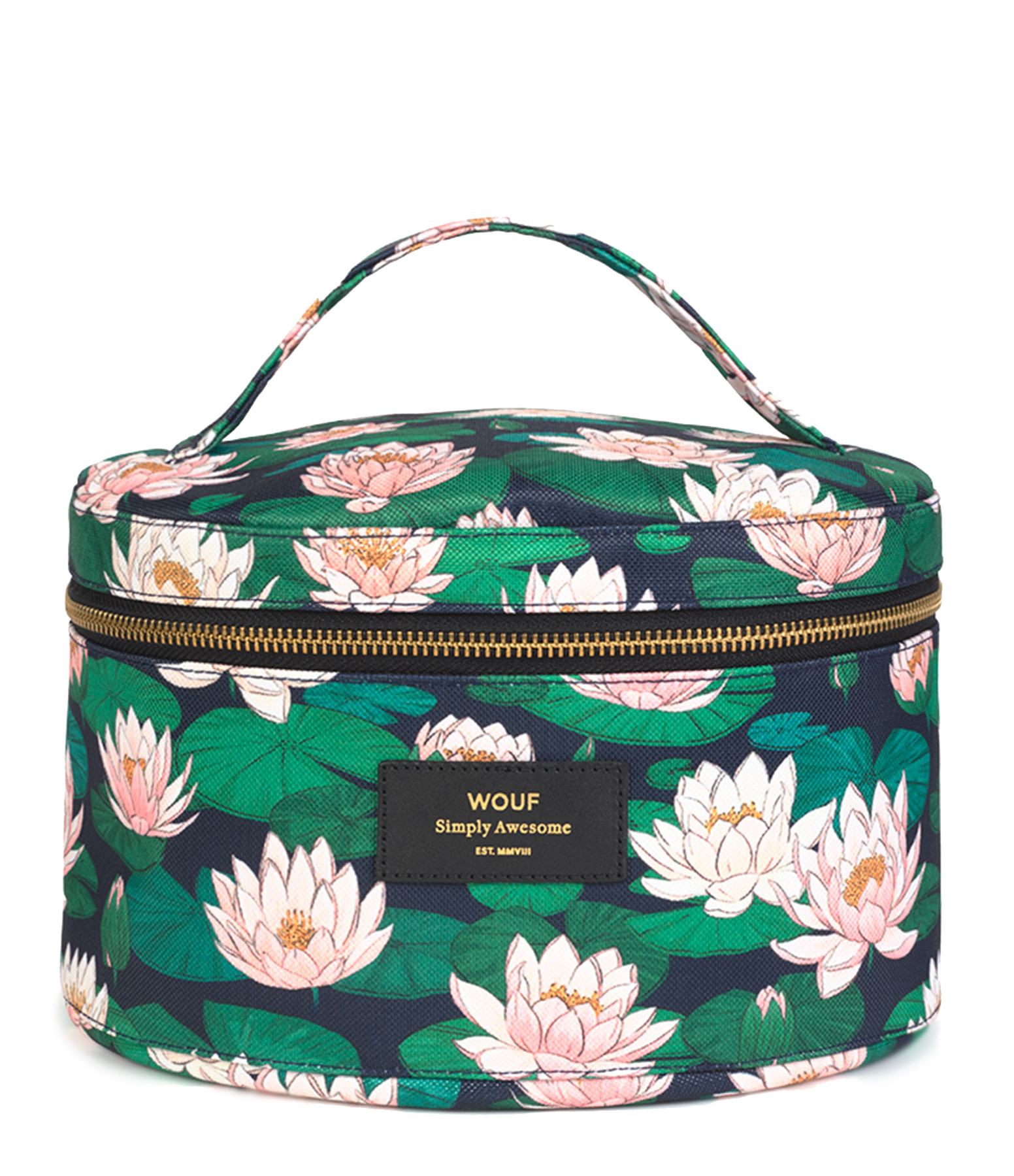 WOUF - Trousse XL Beauty Nénuphares