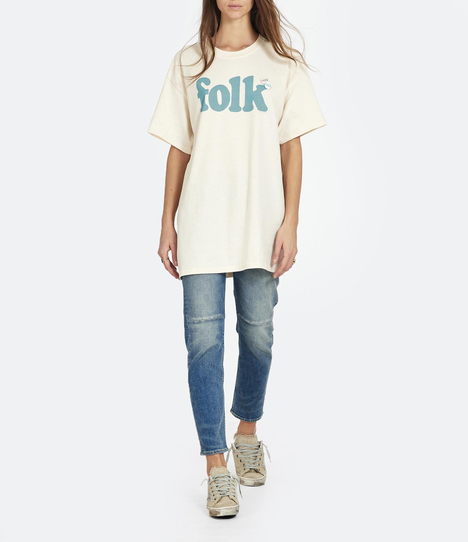 NEWTONE - Tee-shirt Folk Naturel