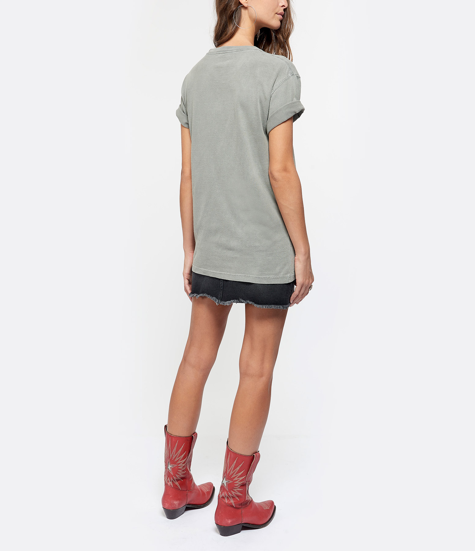 NEWTONE - Tee-shirt Spicy Coton Gris