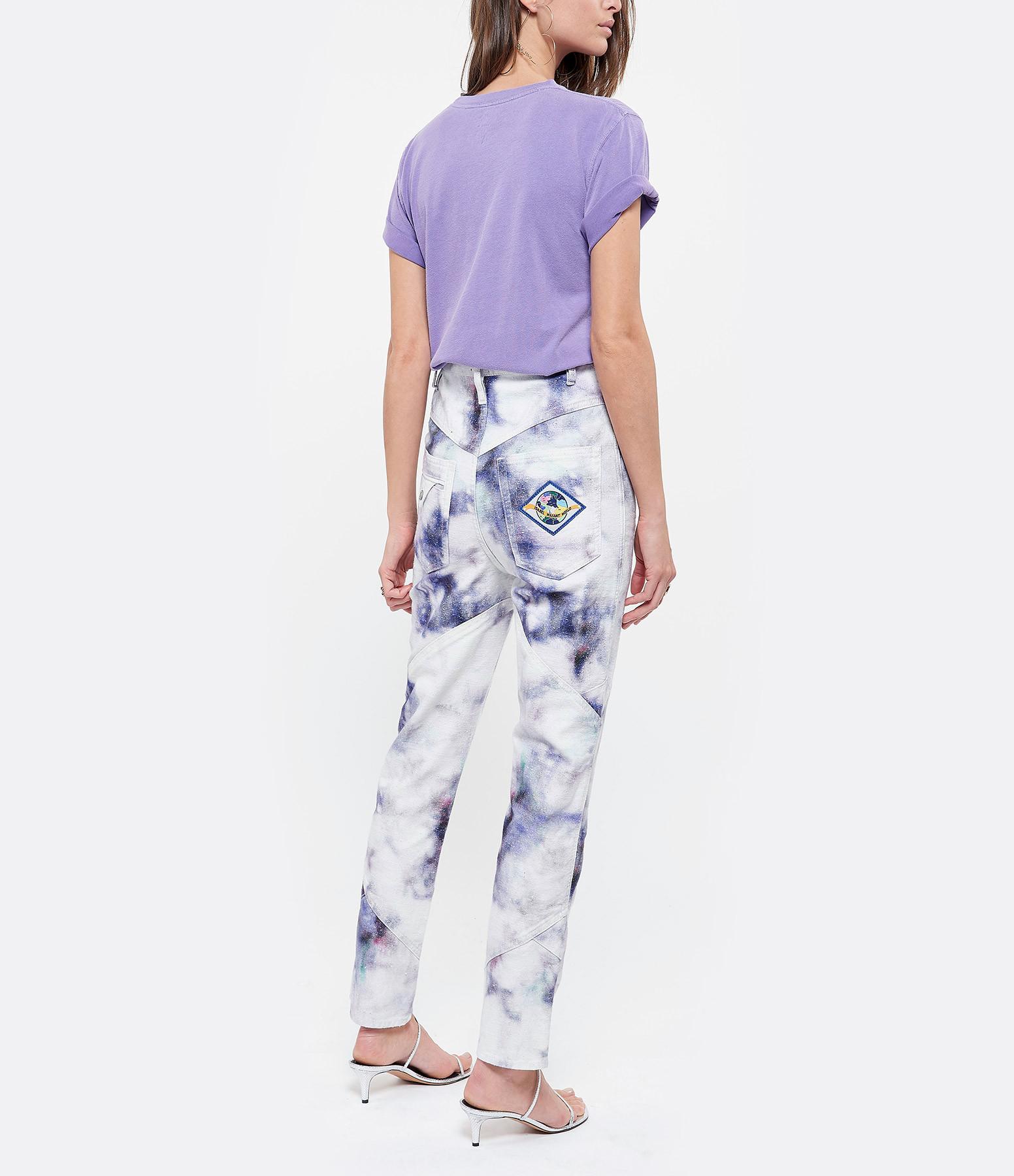 NEWTONE - Tee-shirt Phoenix Coton Violet