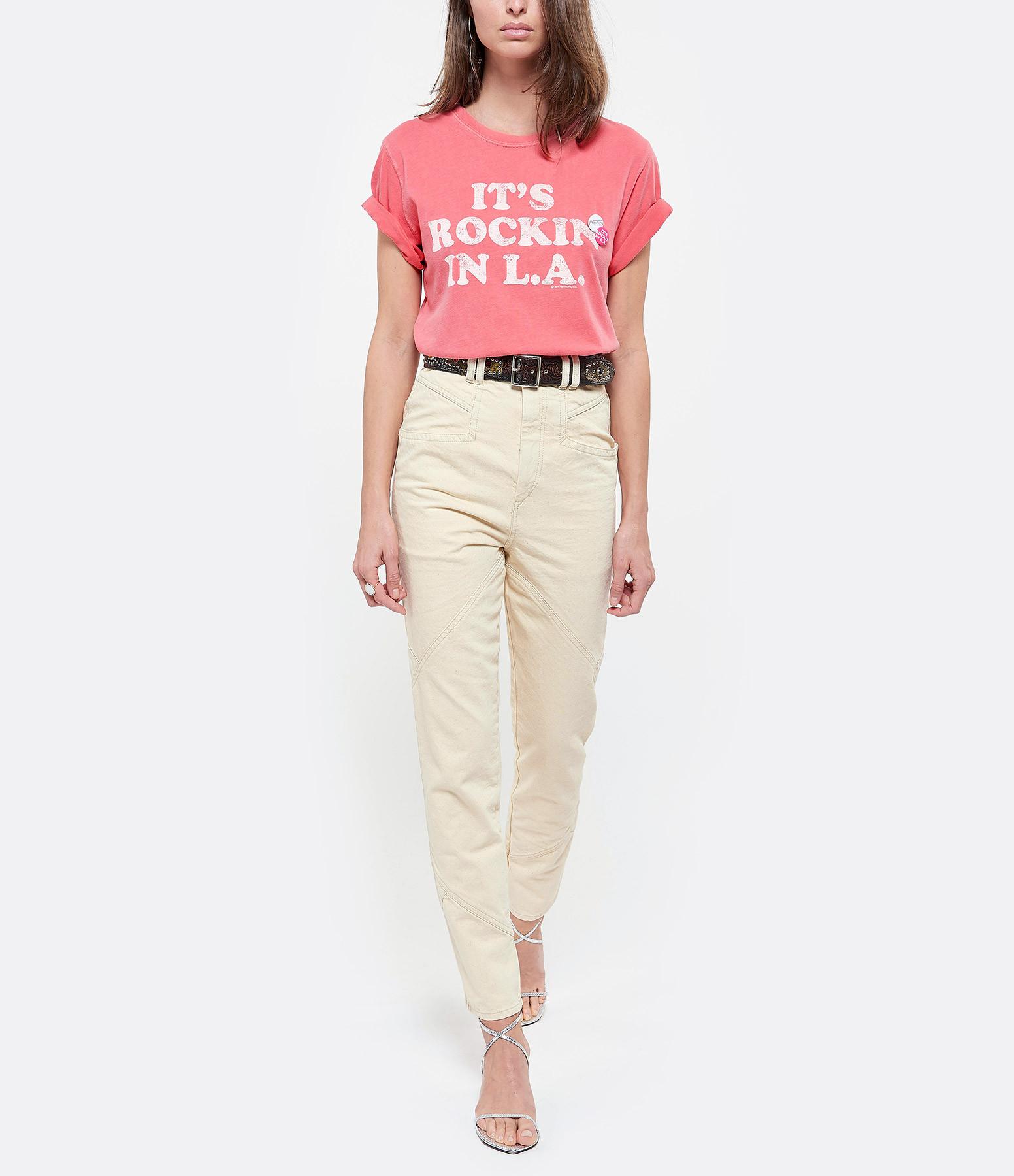 NEWTONE - Tee-shirt Rock Coton Malabar