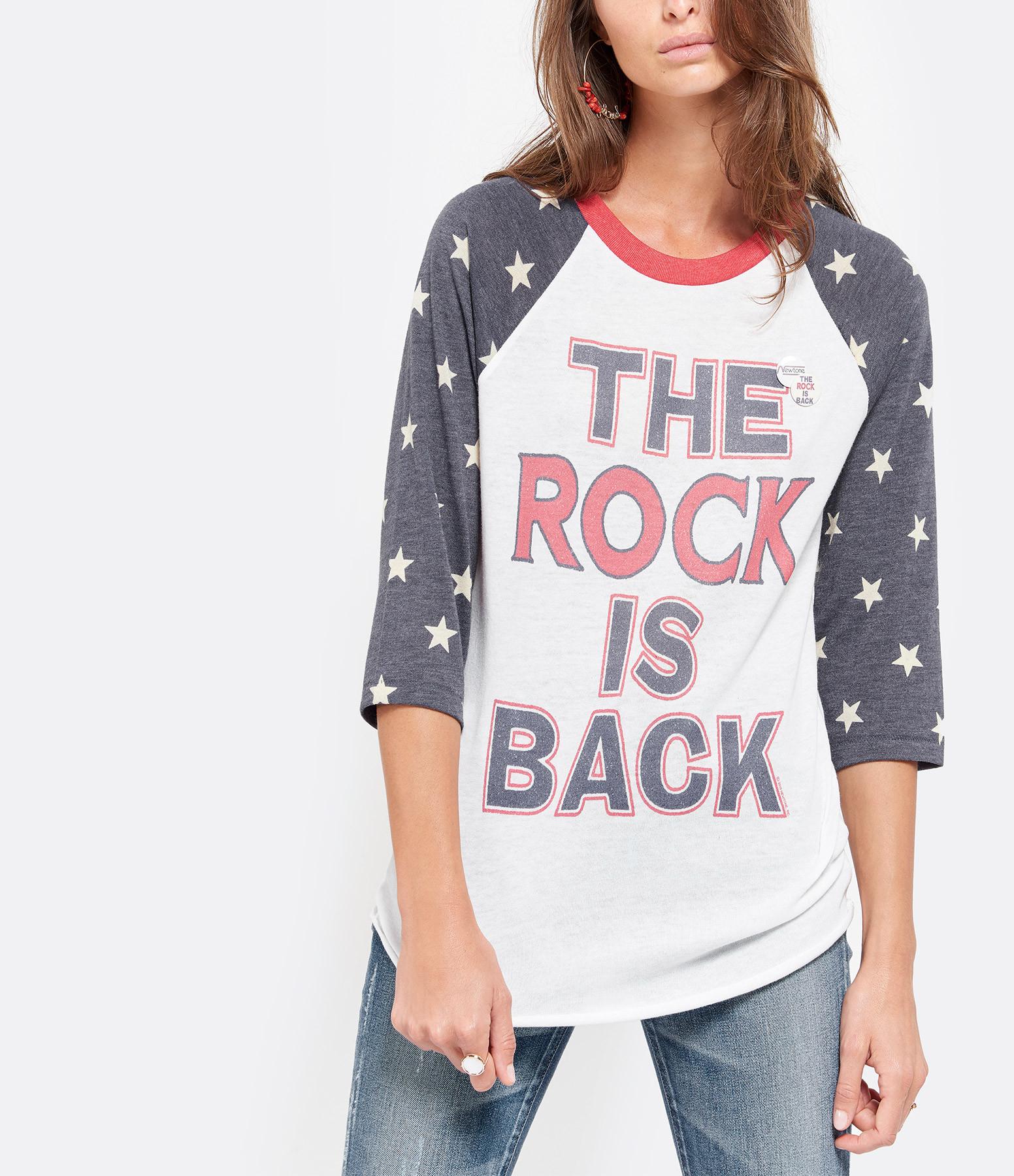 NEWTONE - Tee-shirt Baseball Coton Étoile