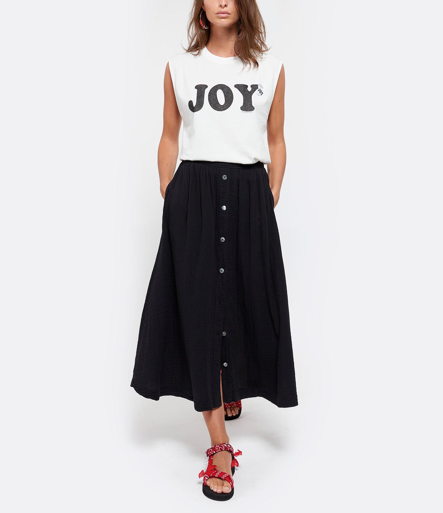 NEWTONE - Tee-shirt Biker Joy Coton Ecru