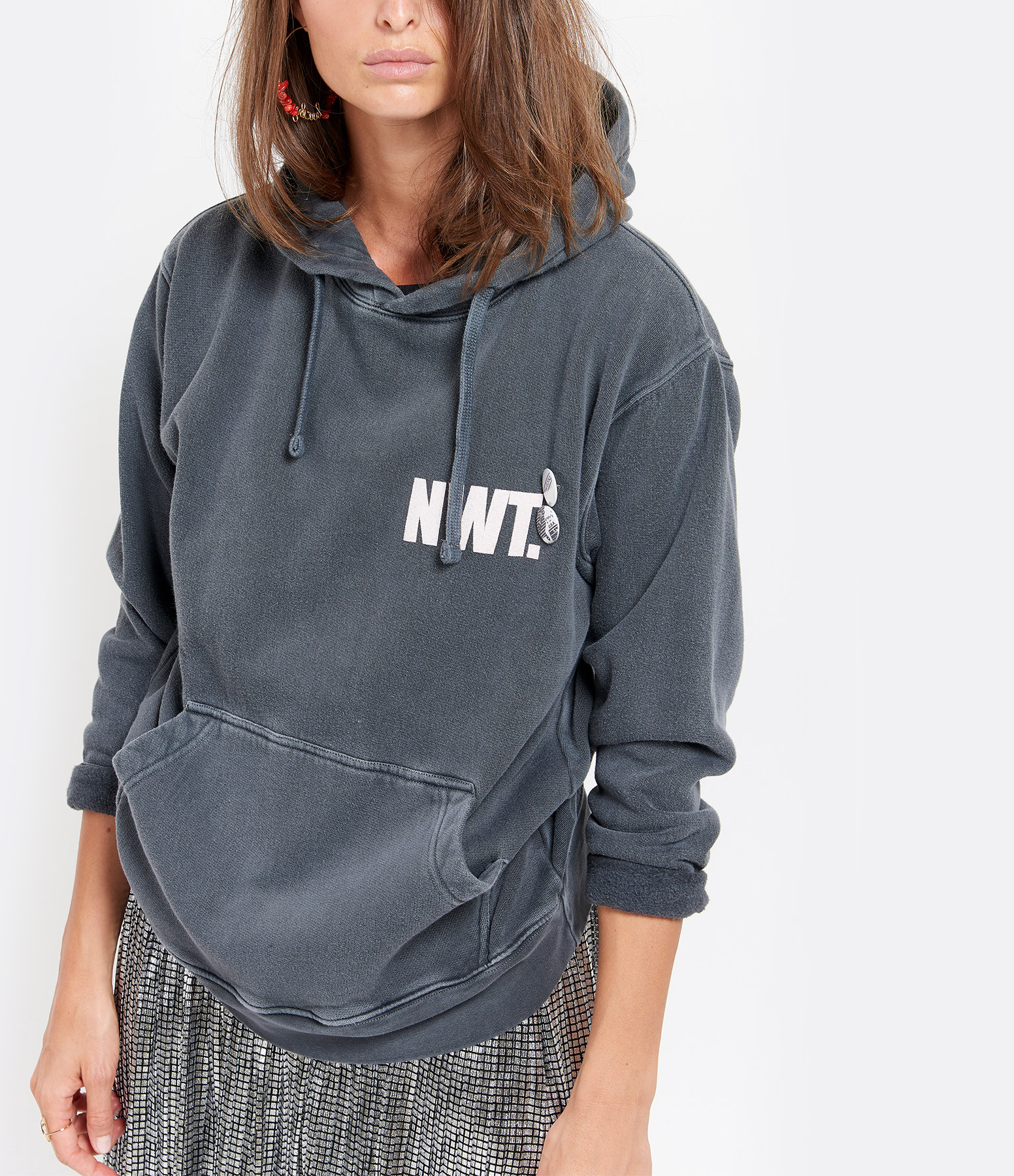 NEWTONE - Sweatshirt Hoody Pistols Coton Pepper