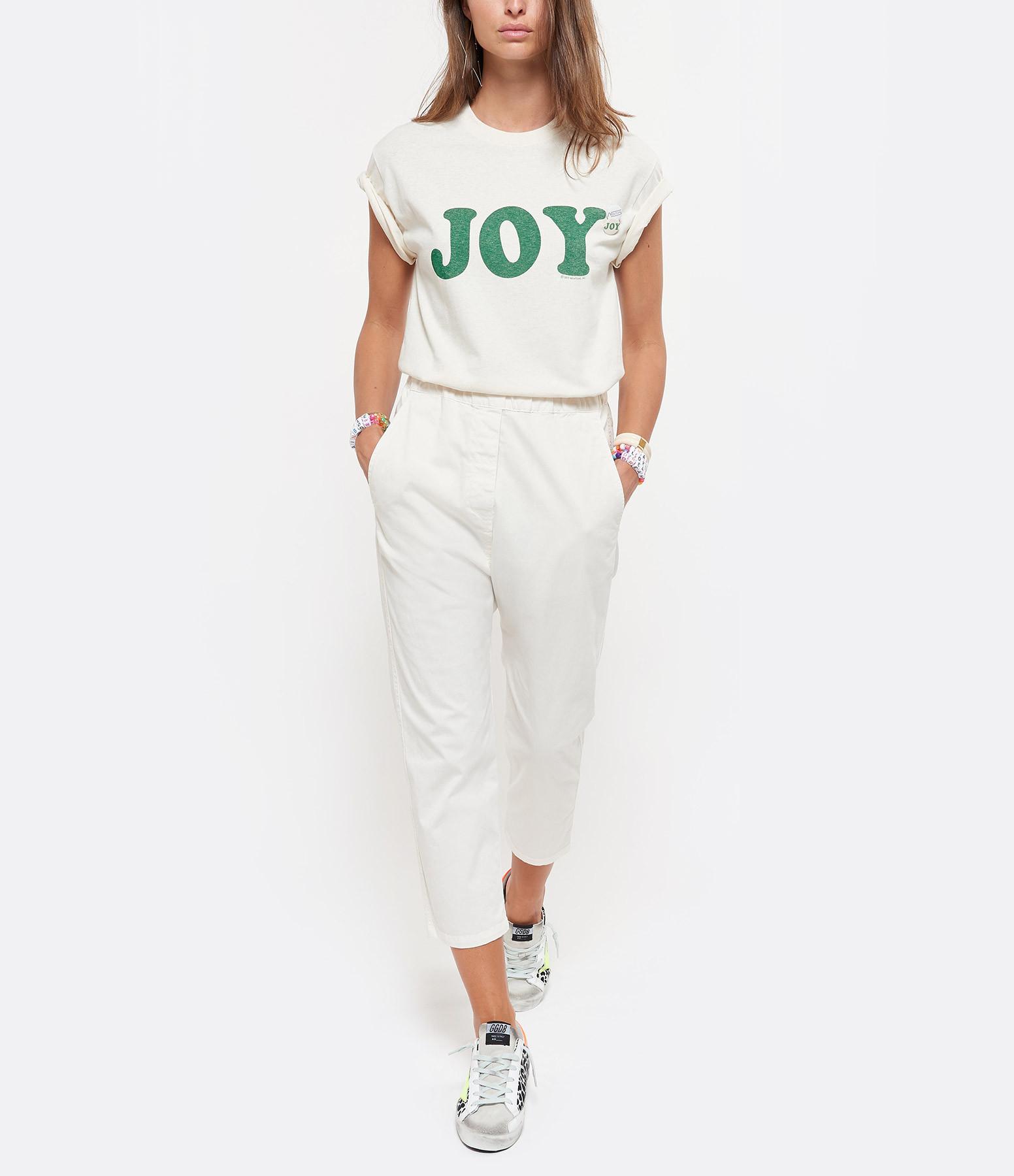 NEWTONE - Tee-shirt Joy Coton Naturel