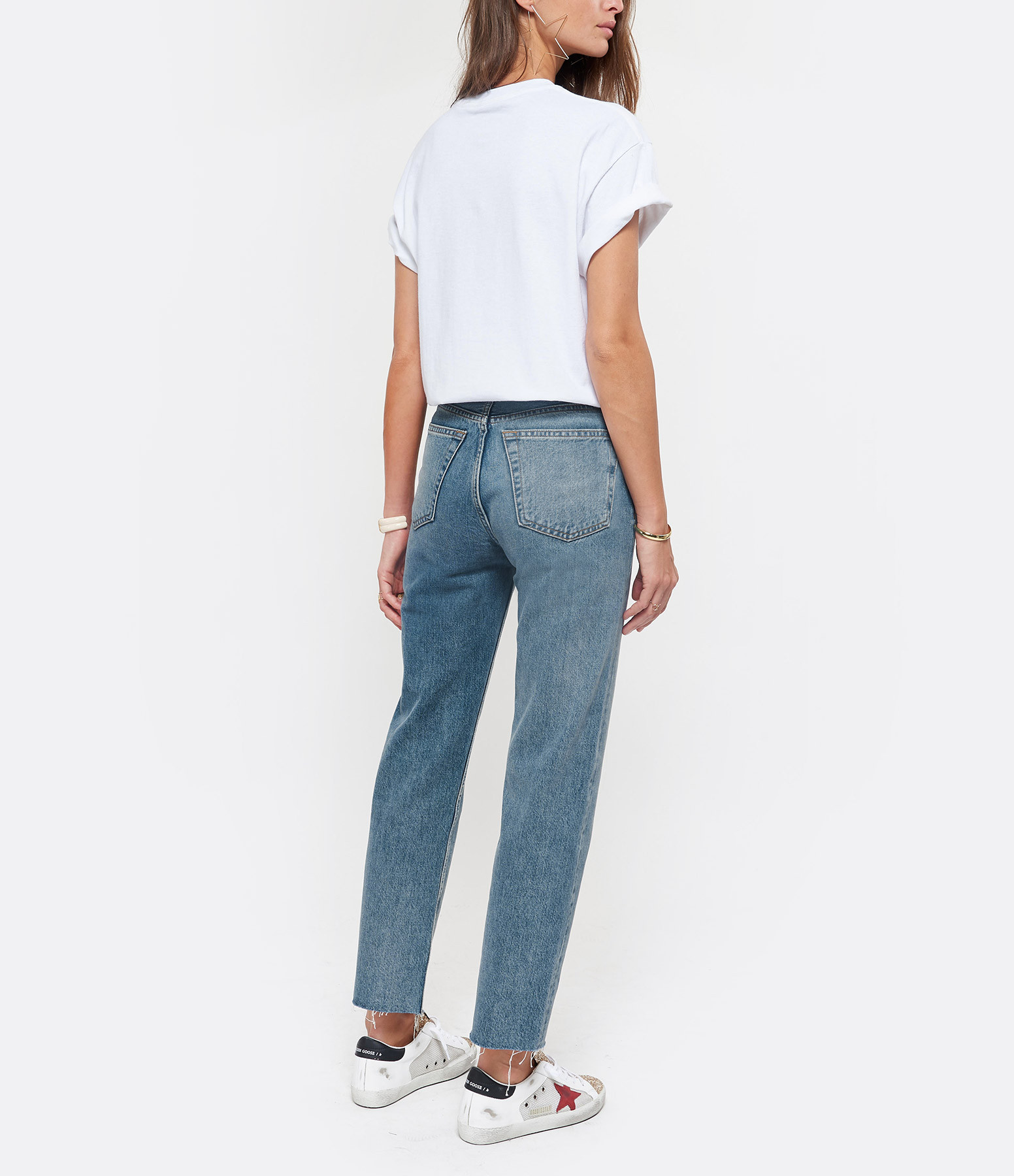 NEWTONE - Tee-shirt Houston Coton Blanc