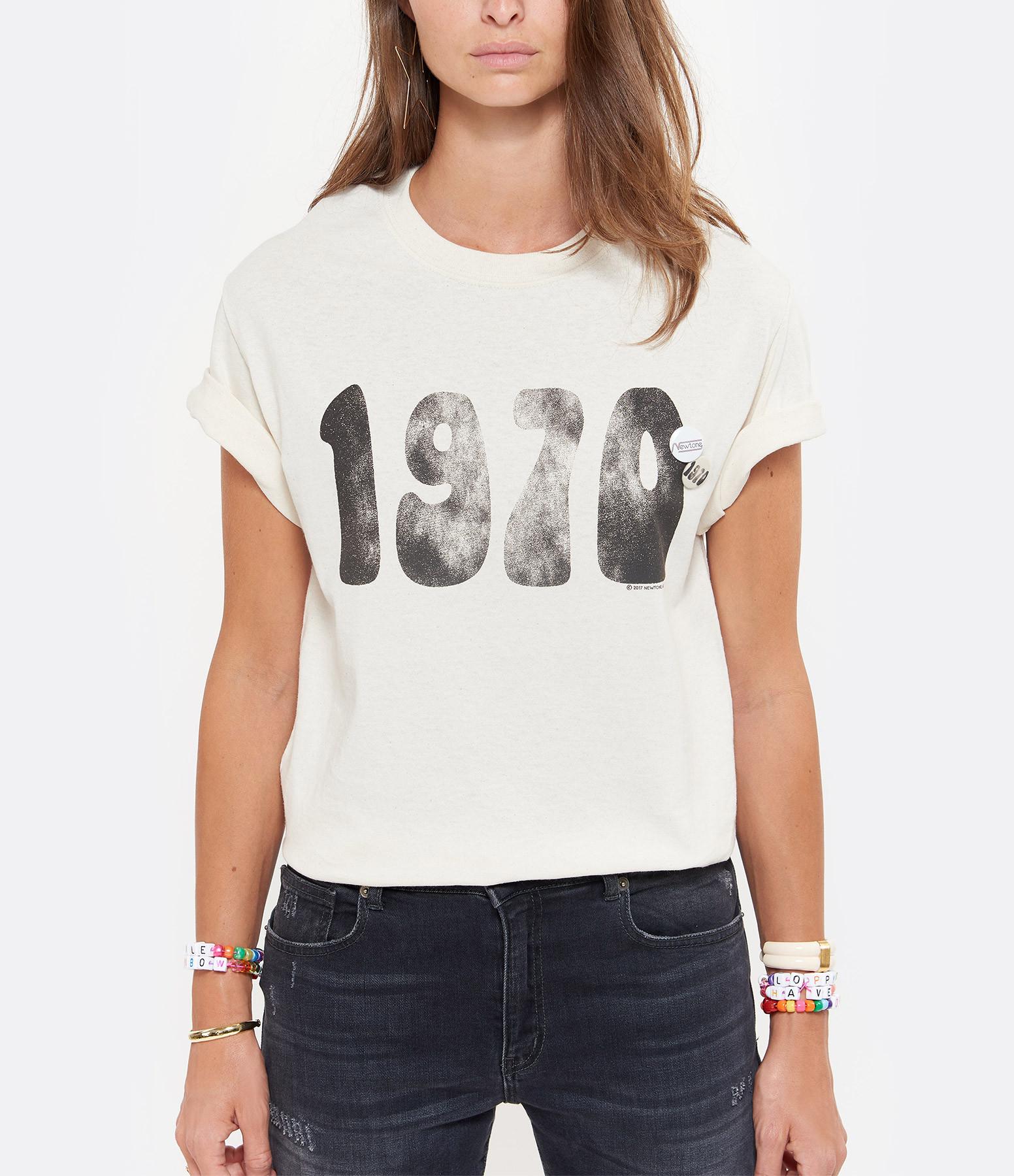 NEWTONE - Tee-shirt 1970 Coton Naturel