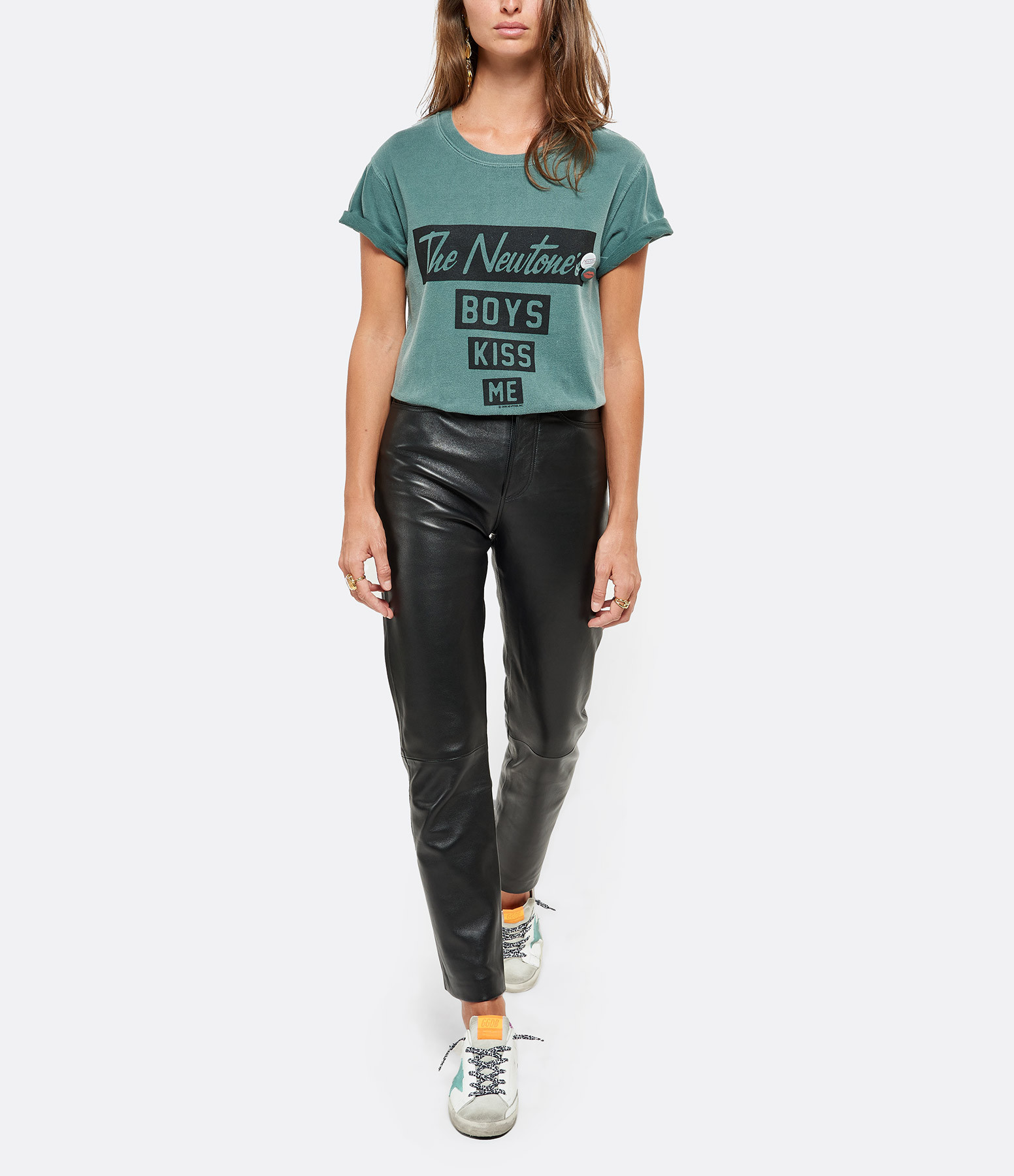 NEWTONE - Tee-shirt Kiss Me Coton Forêt