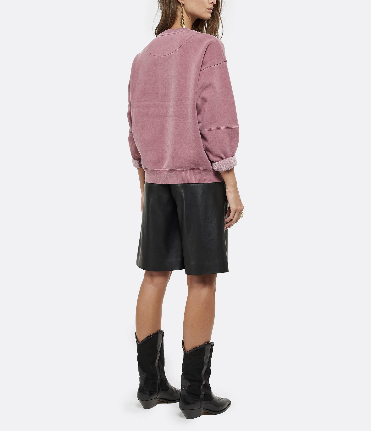 NEWTONE - Sweatshirt Roller Rockin Coton Brique