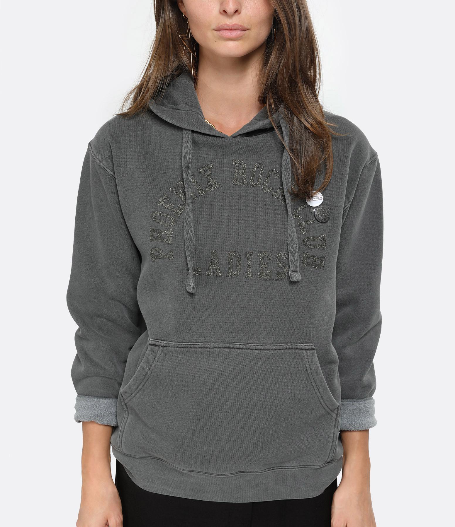 NEWTONE - Sweatshirt Hoody Phoenix Coton Pepper