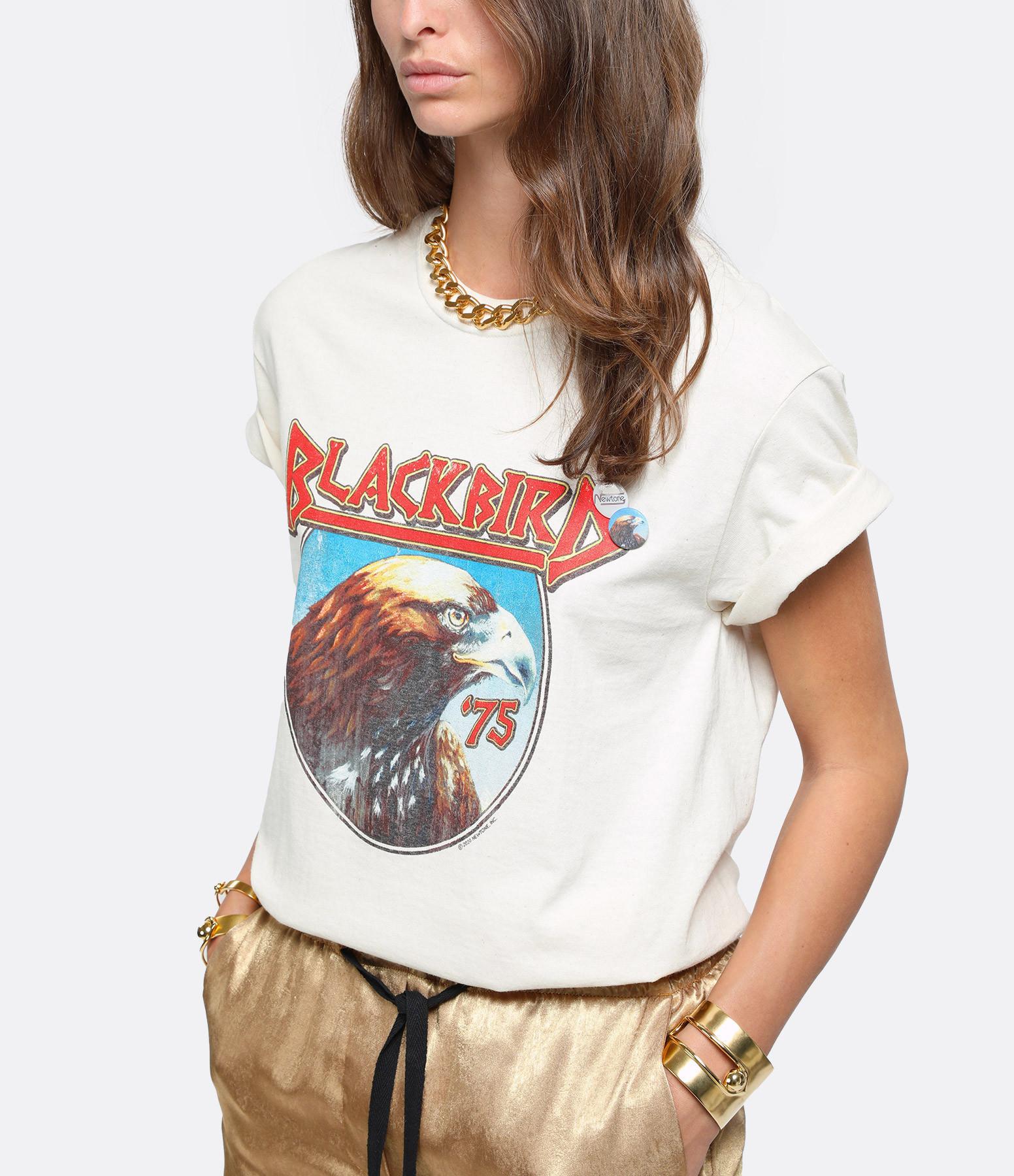 NEWTONE - Tee-shirt Blackbird Coton Naturel
