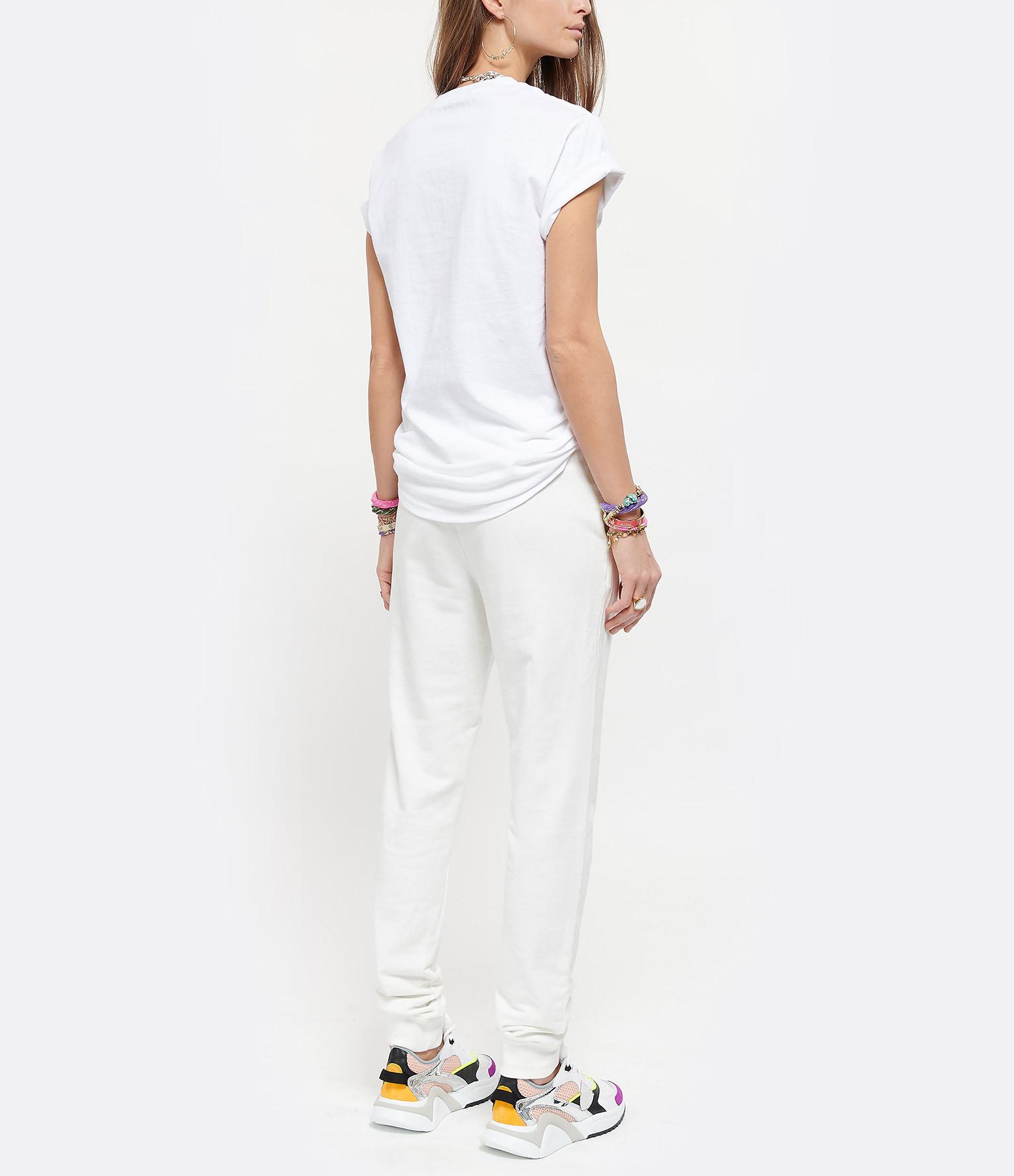 NEWTONE - Tee-shirt Wings Coton Blanc