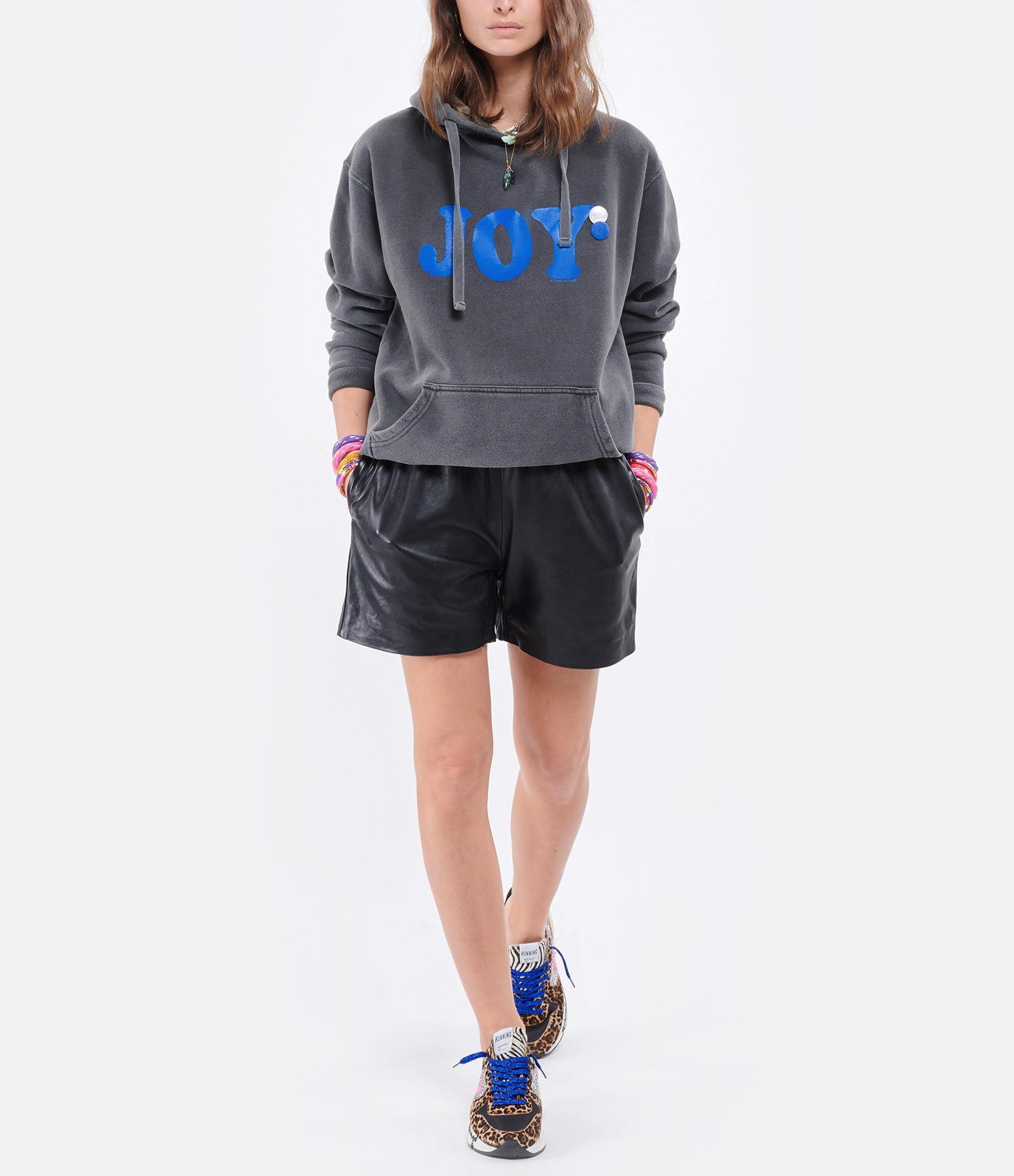 NEWTONE - Sweatshirt Hoodie Joy Coton Pepper