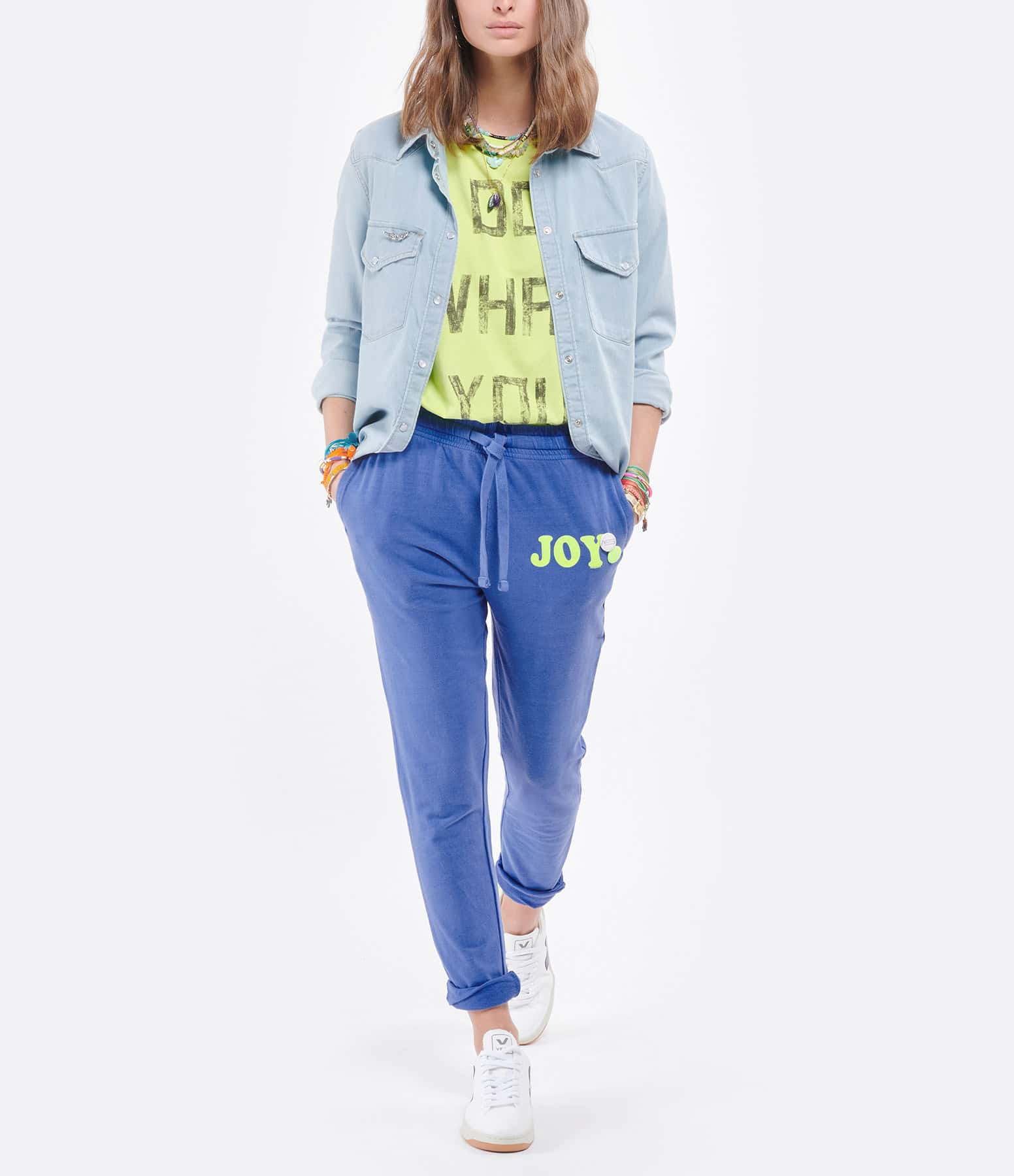 NEWTONE - Jogging Joy Coton Flo Bleu