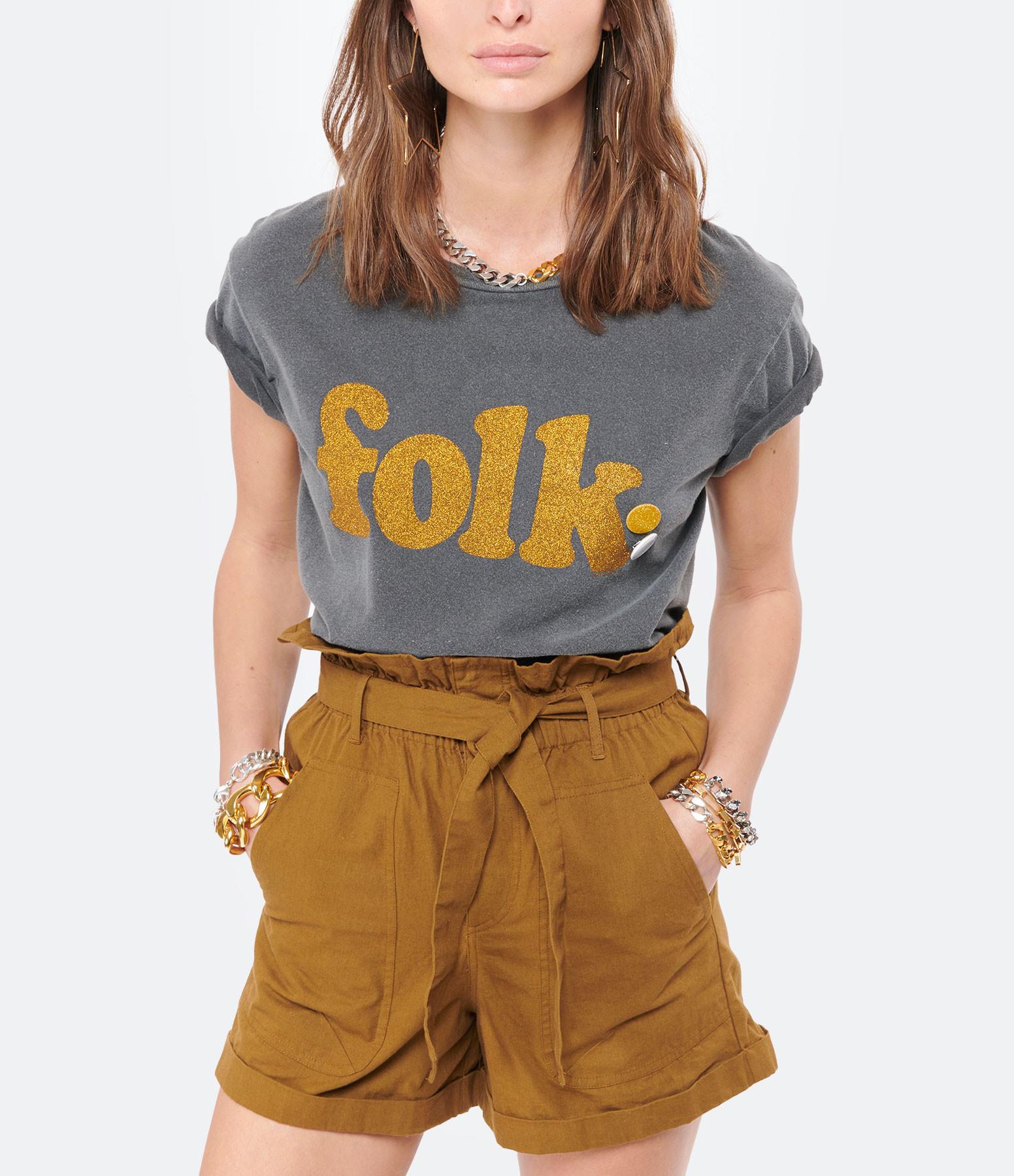 NEWTONE - Tee-shirt Starlight Folk Coton Pepper