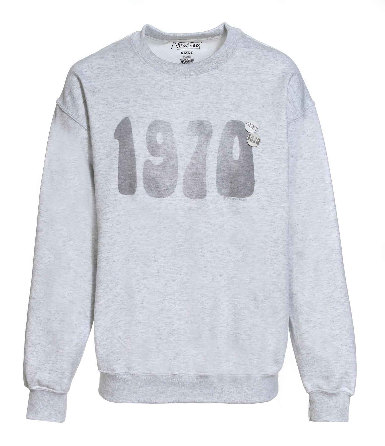 NEWTONE - Sweatshirt 1970 Ash