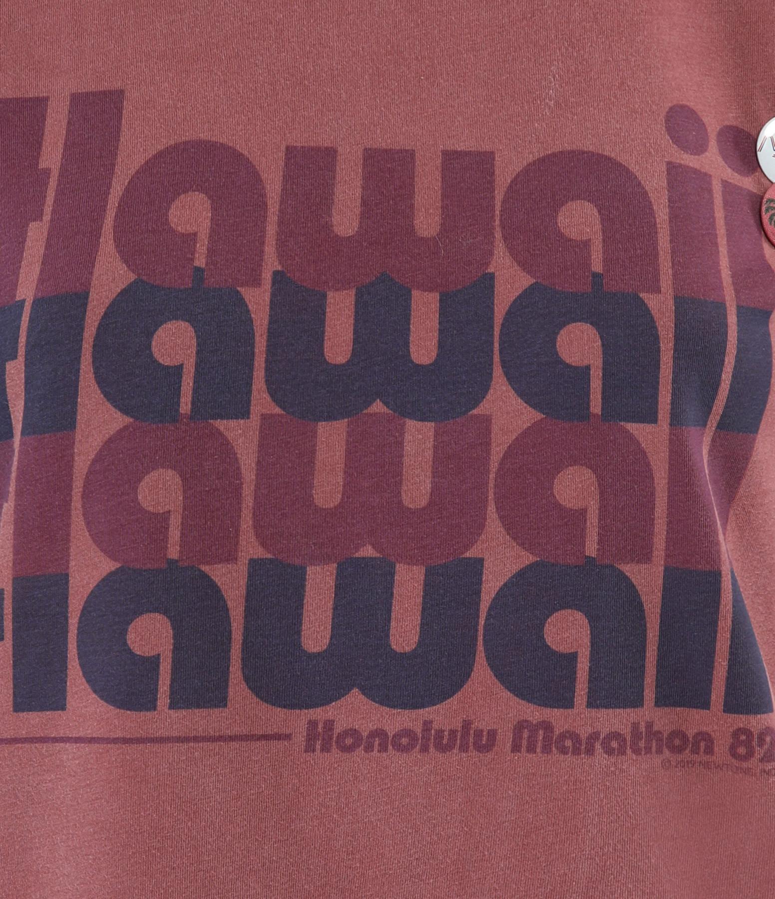 NEWTONE - Tee-shirt Hawaii Coton Brick