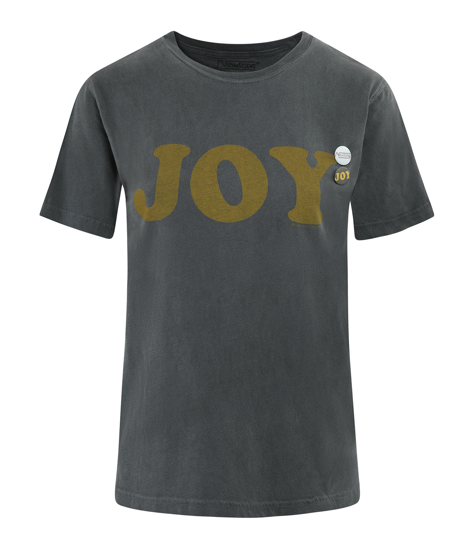 NEWTONE - Tee-shirt Joy Coton Pepper