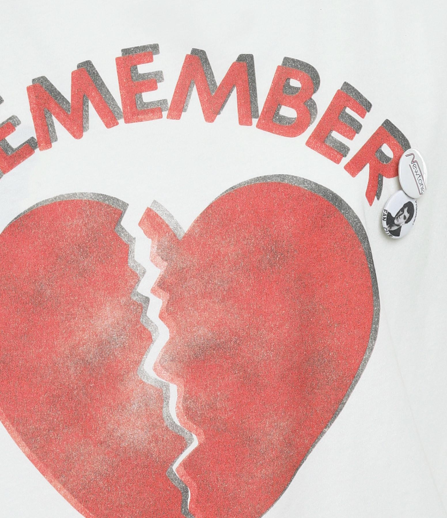 NEWTONE - Tee-shirt Elvis Remember Coton Blanc