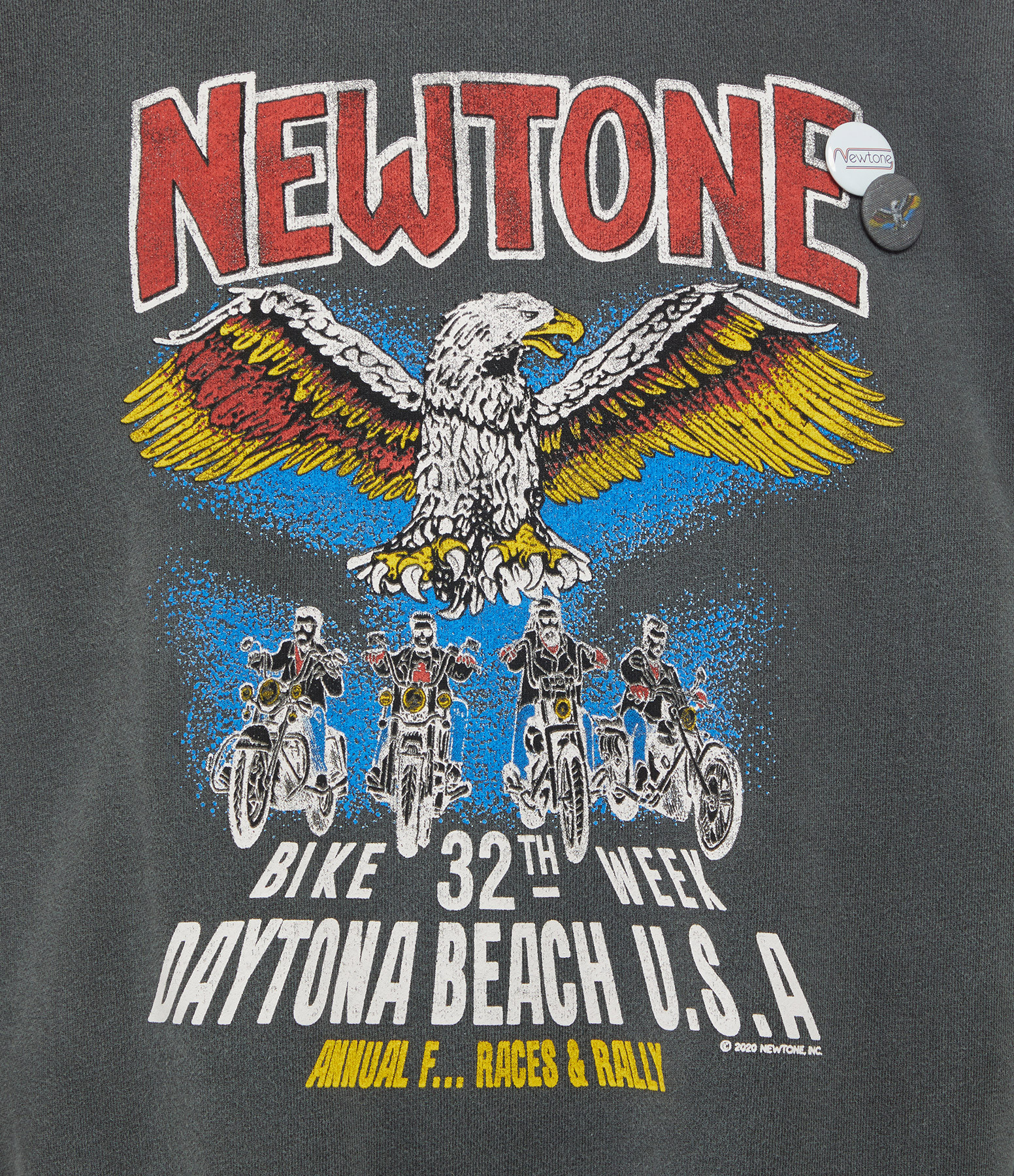 NEWTONE - Sweatshirt Roller Convention Coton Pepper