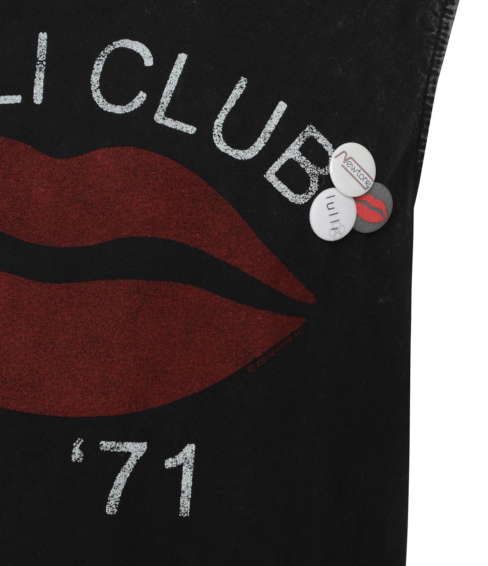NEWTONE - Robe Daytona Love Club Coton Noir