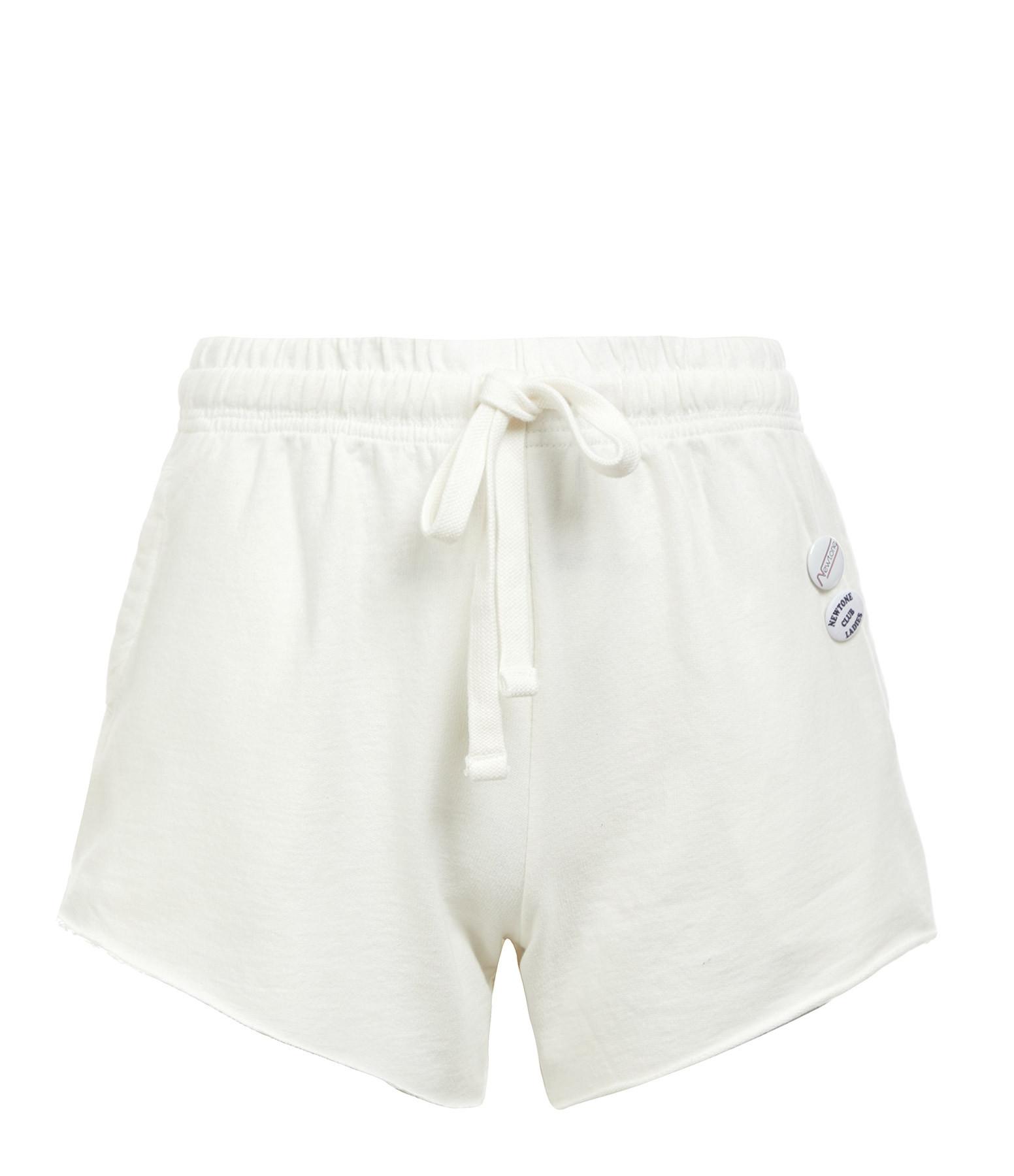 NEWTONE - Short Plain Coton Écru