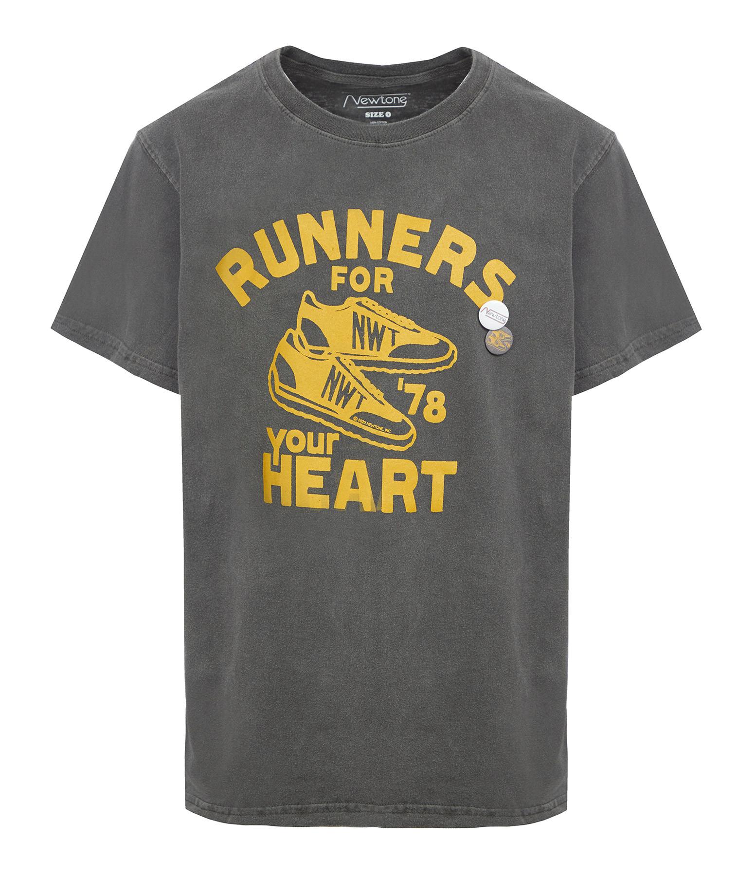 NEWTONE - Tee-shirt Trucker Hearth Coton Pepper