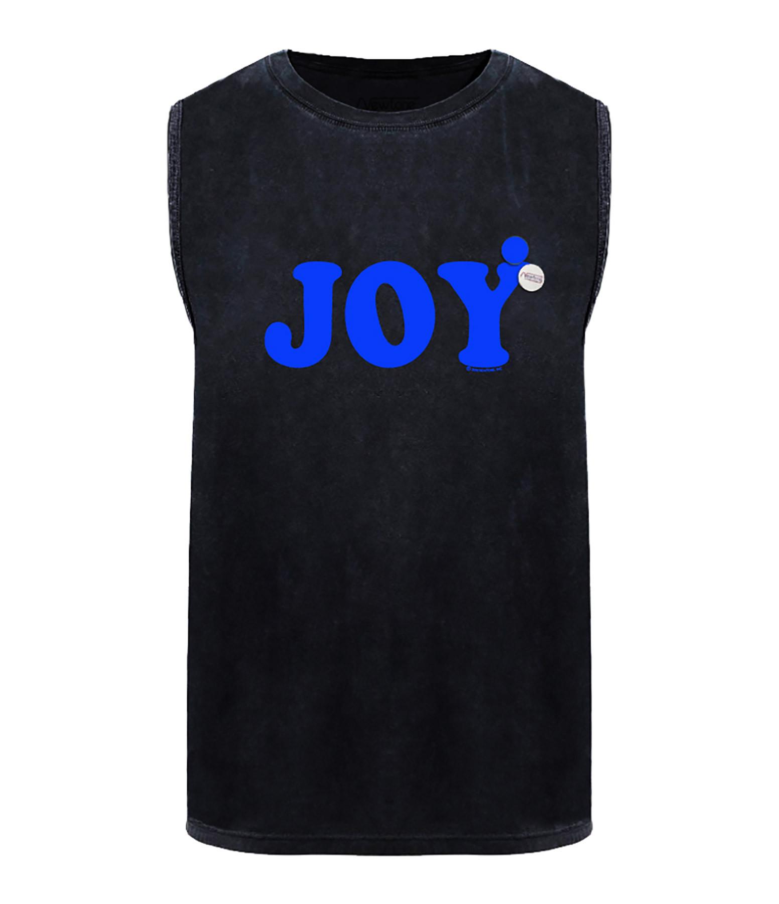 NEWTONE - Tee-shirt Biker Joy Coton Noir