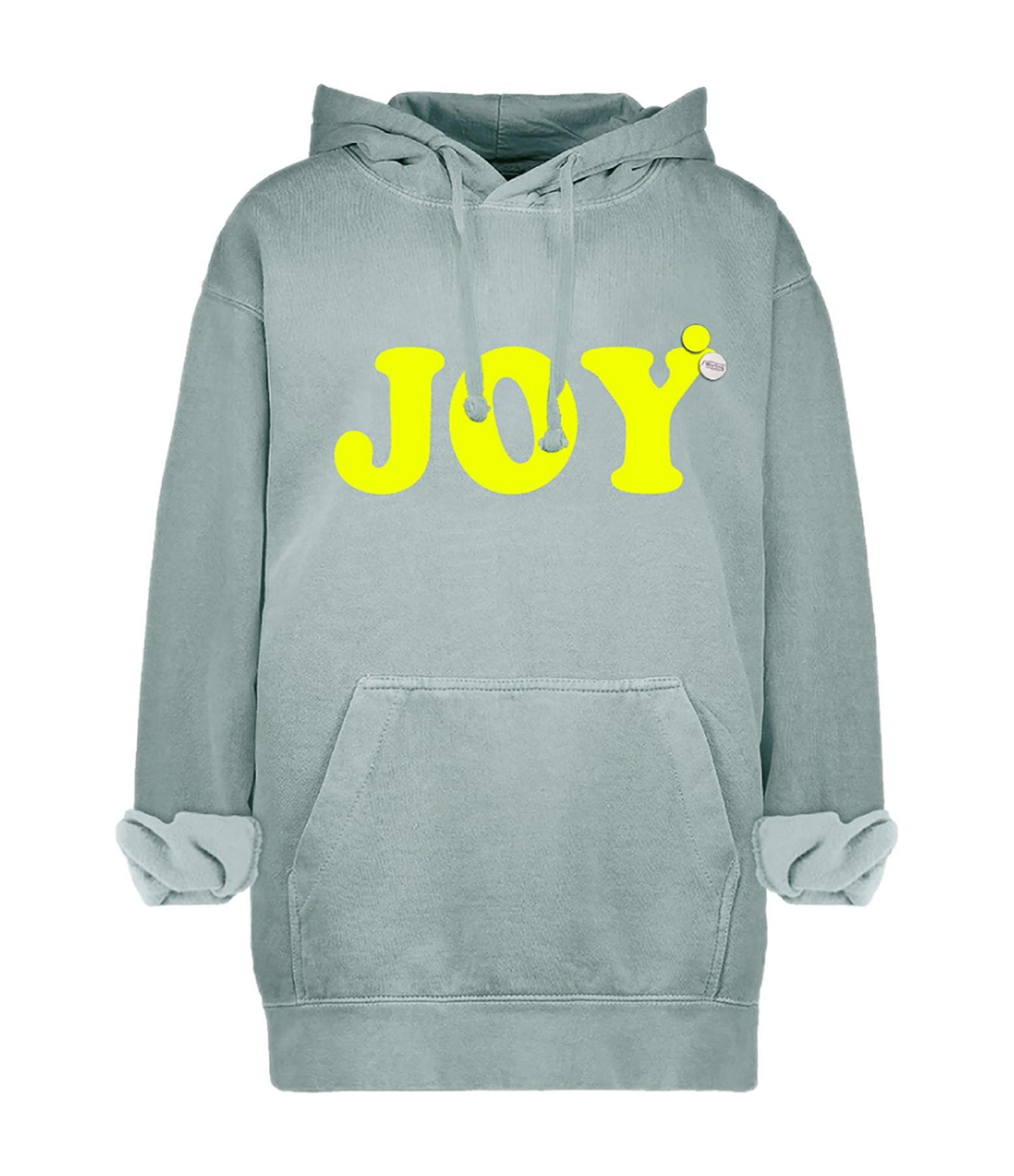NEWTONE - Sweatshirt Hoodie Joy Coton Gris
