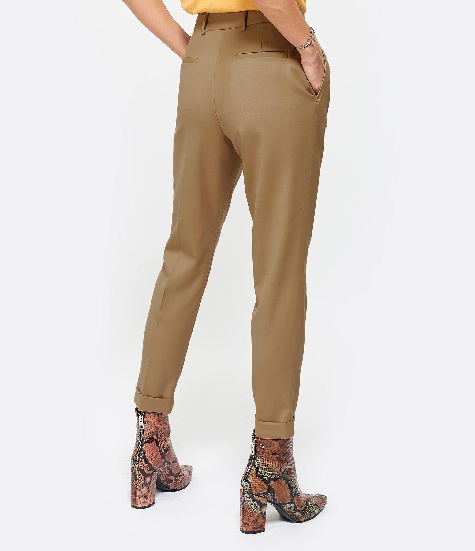 NILI LOTAN - Pantalon Montana Camel