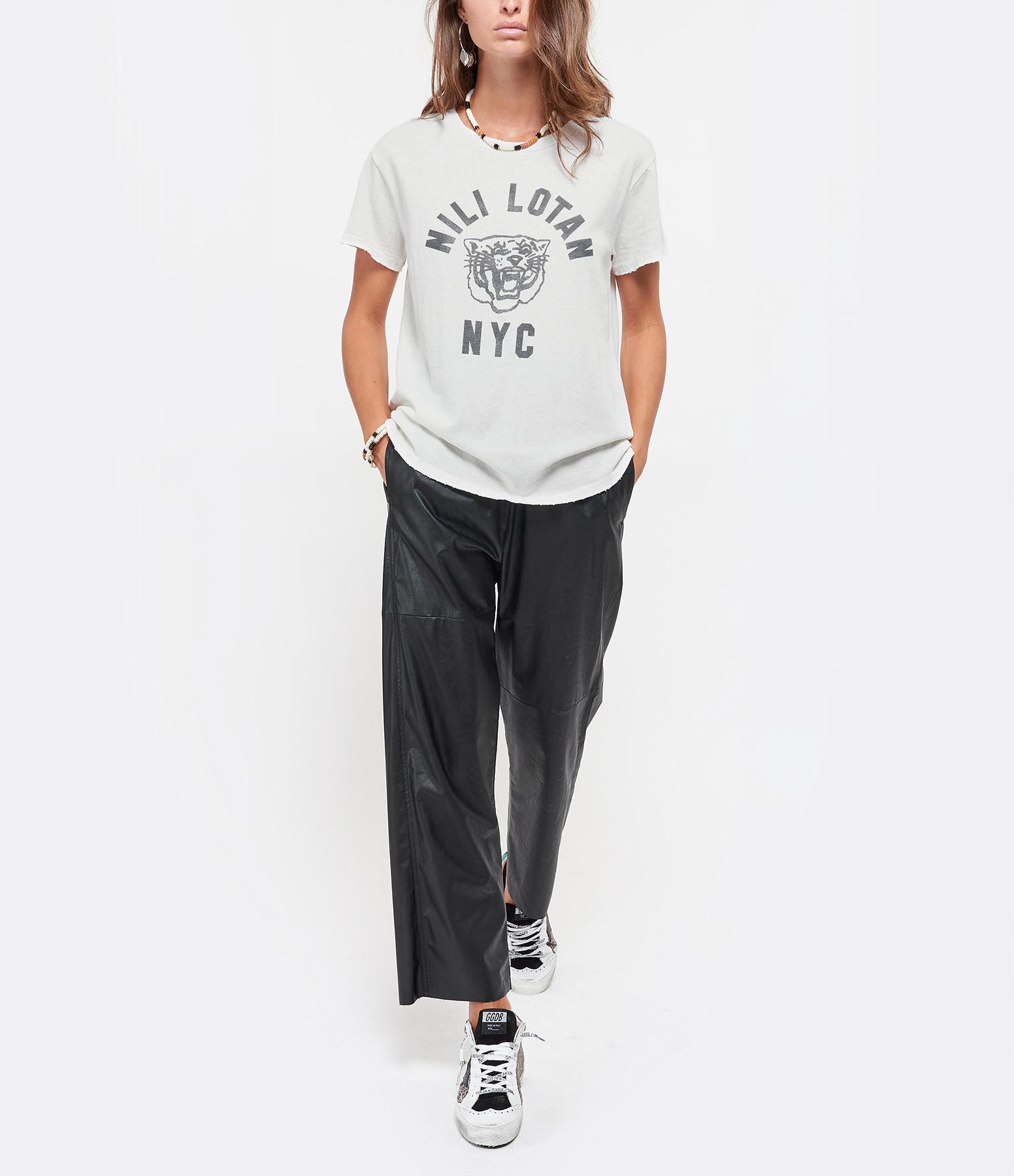 NILI LOTAN - Tee-shirt Nili Lotan NYC Écru