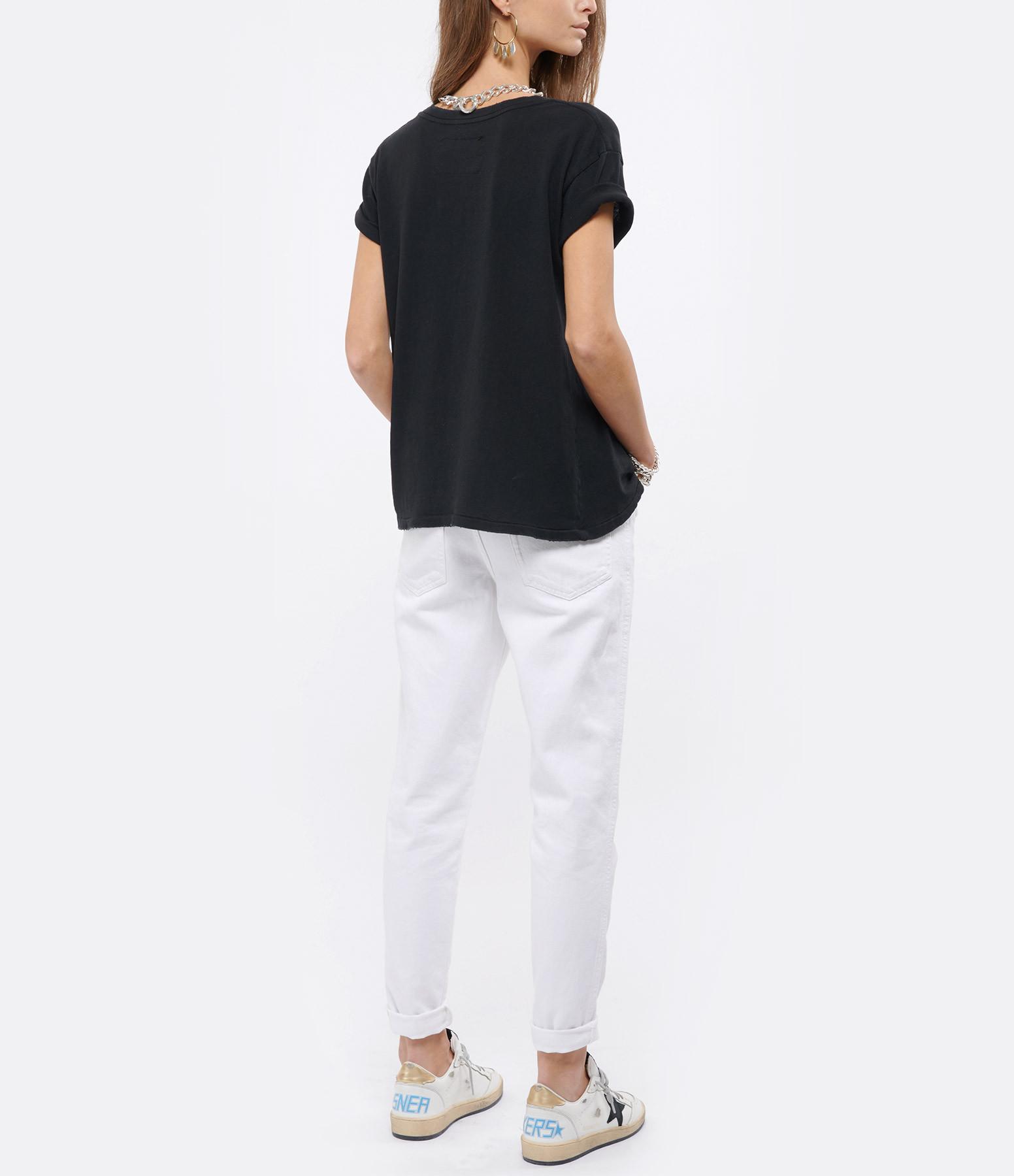 NILI LOTAN - Tee-shirt Nili Lotan Brady Noir Délavé