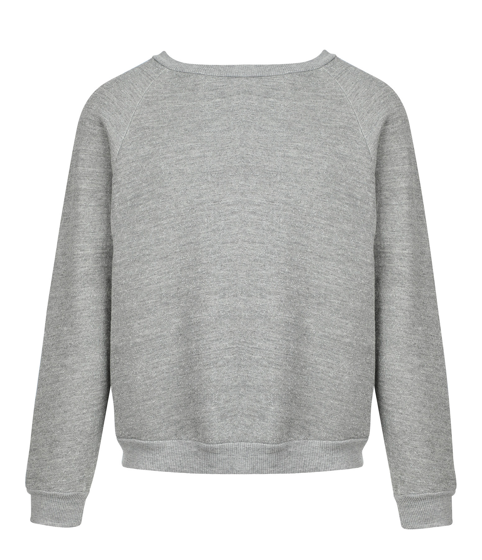 NILI LOTAN - Sweatshirt Classic Crew Gris Chiné